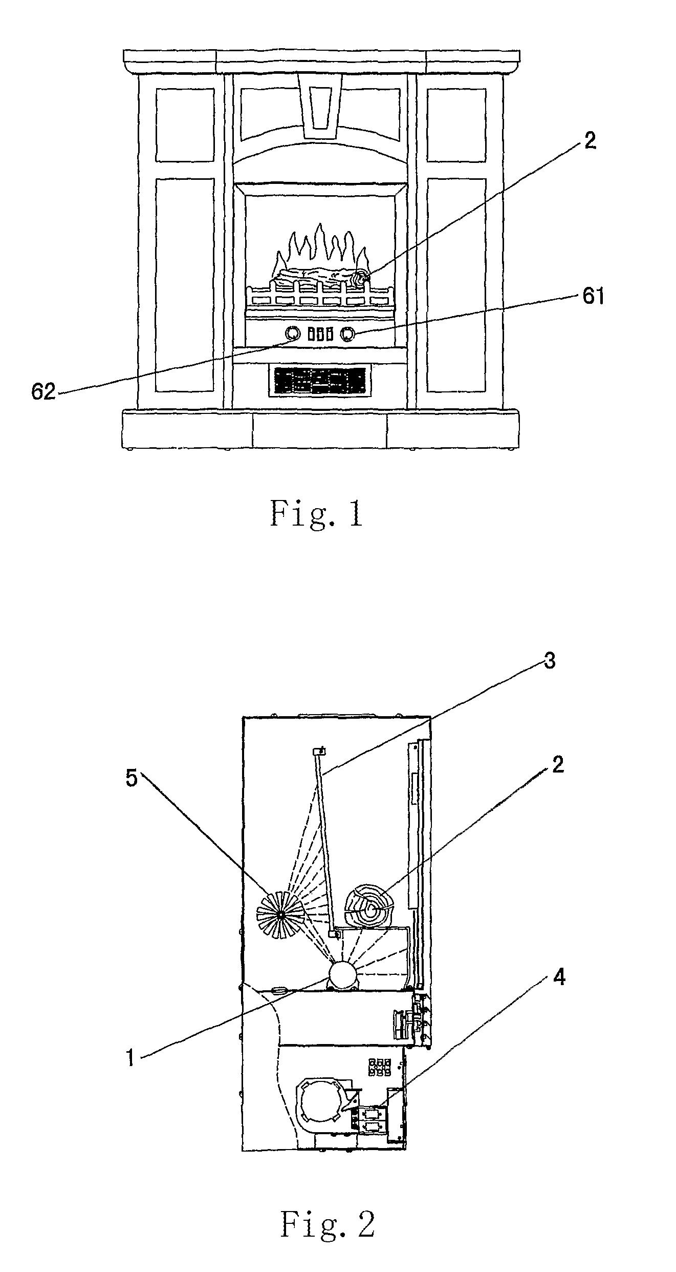 Fireplace Simulator Part - 38: Patent Drawing