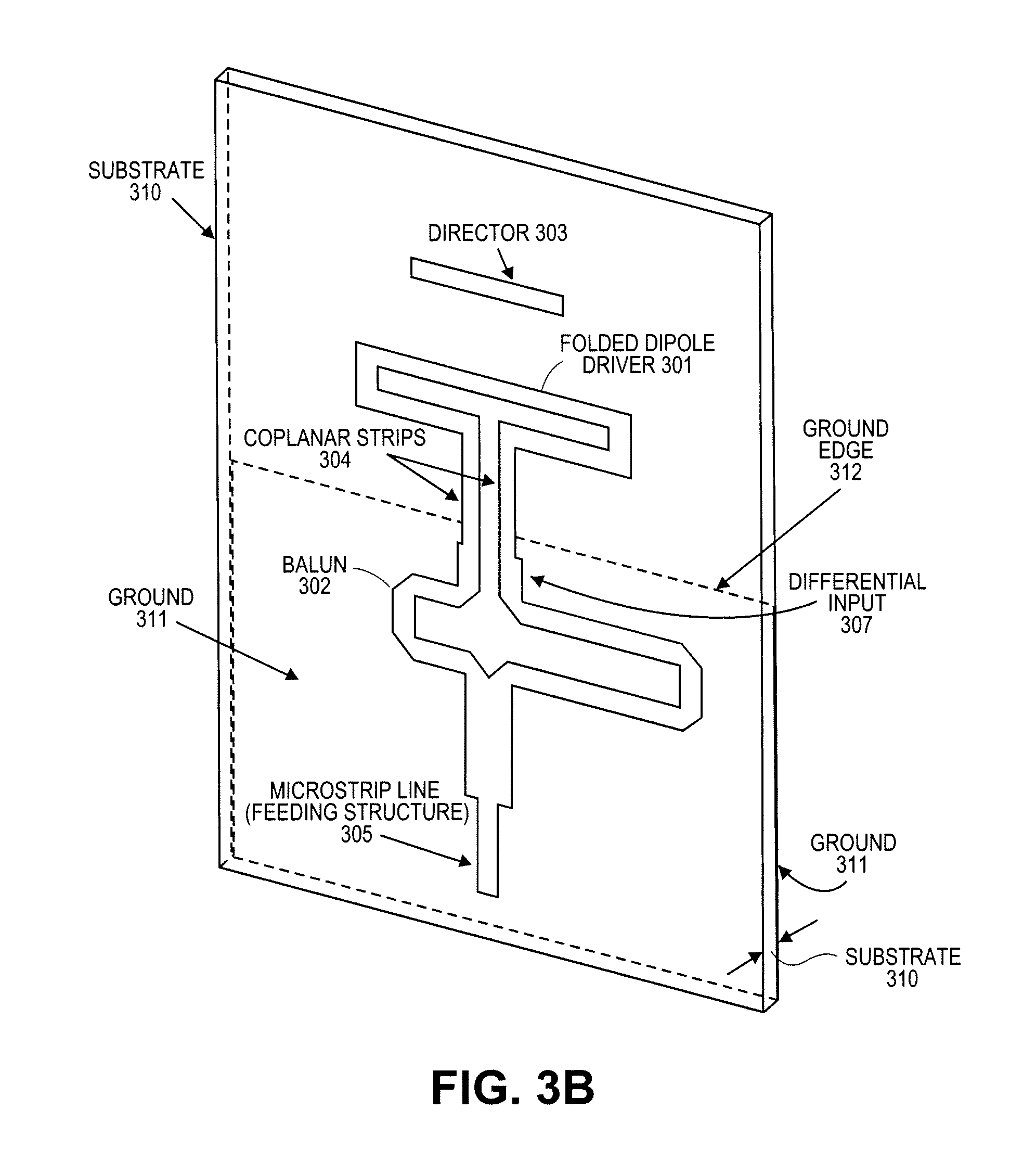 patent us8022887 planar antenna google patents Hydraulic Circuit Diagram  Wi-Fi for Home Made Yagi-Uda Wi-Fi Antenna Diagram Car Antenna Diagram