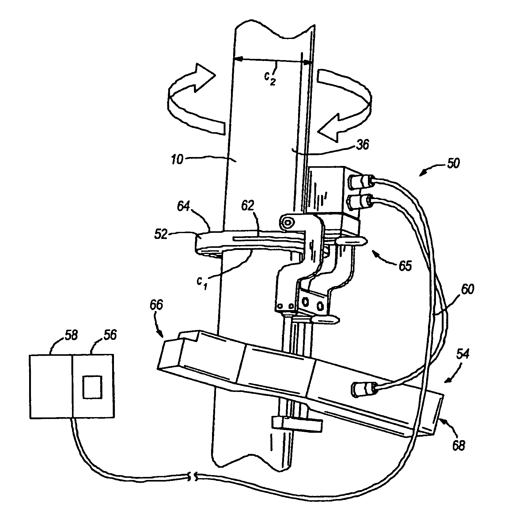 patent us8023722 radiography test system and method patents NDT Ir-192 Camera patent drawing