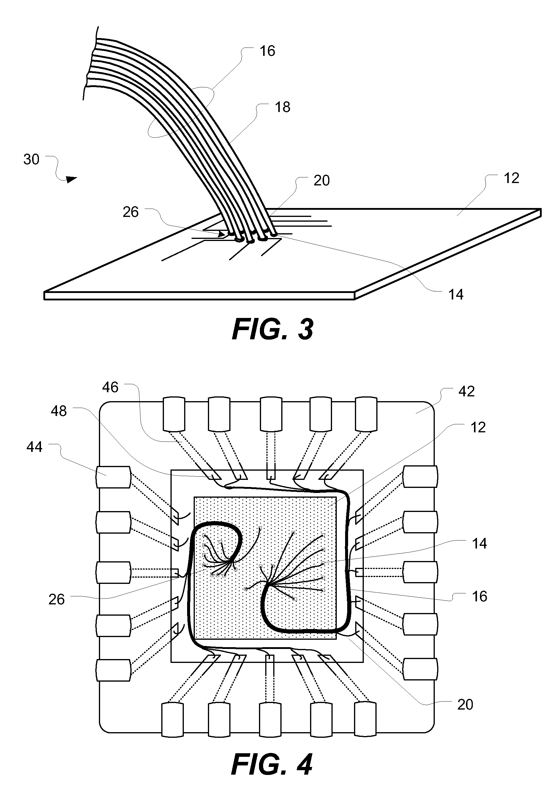 patent us8026447 - electrical microfilament to circuit interface