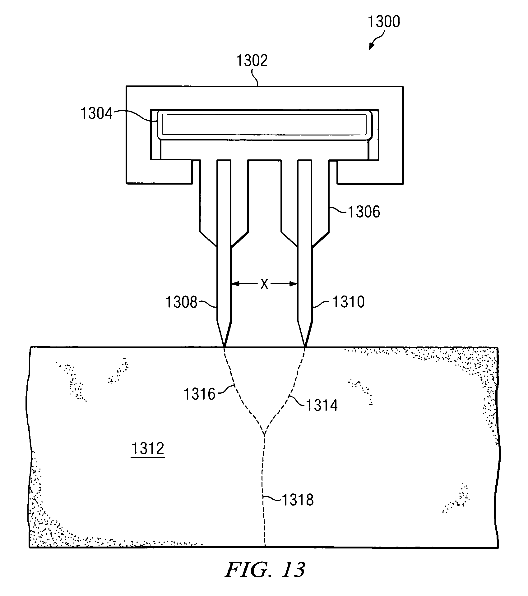 Patent Us8028688 Concrete Block Splitting And Pitching Apparatus Case 580 B Wiring Diagram Free Picture Drawing