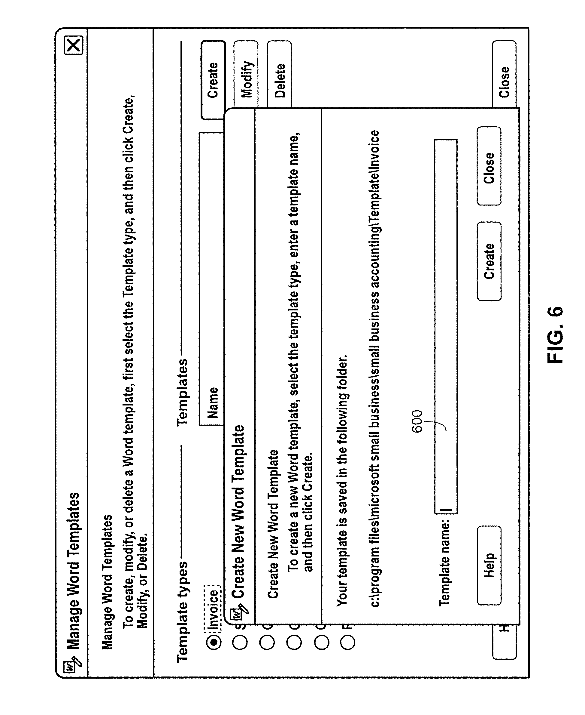 Patent US8032829 - Using a word processor with accounting data ...