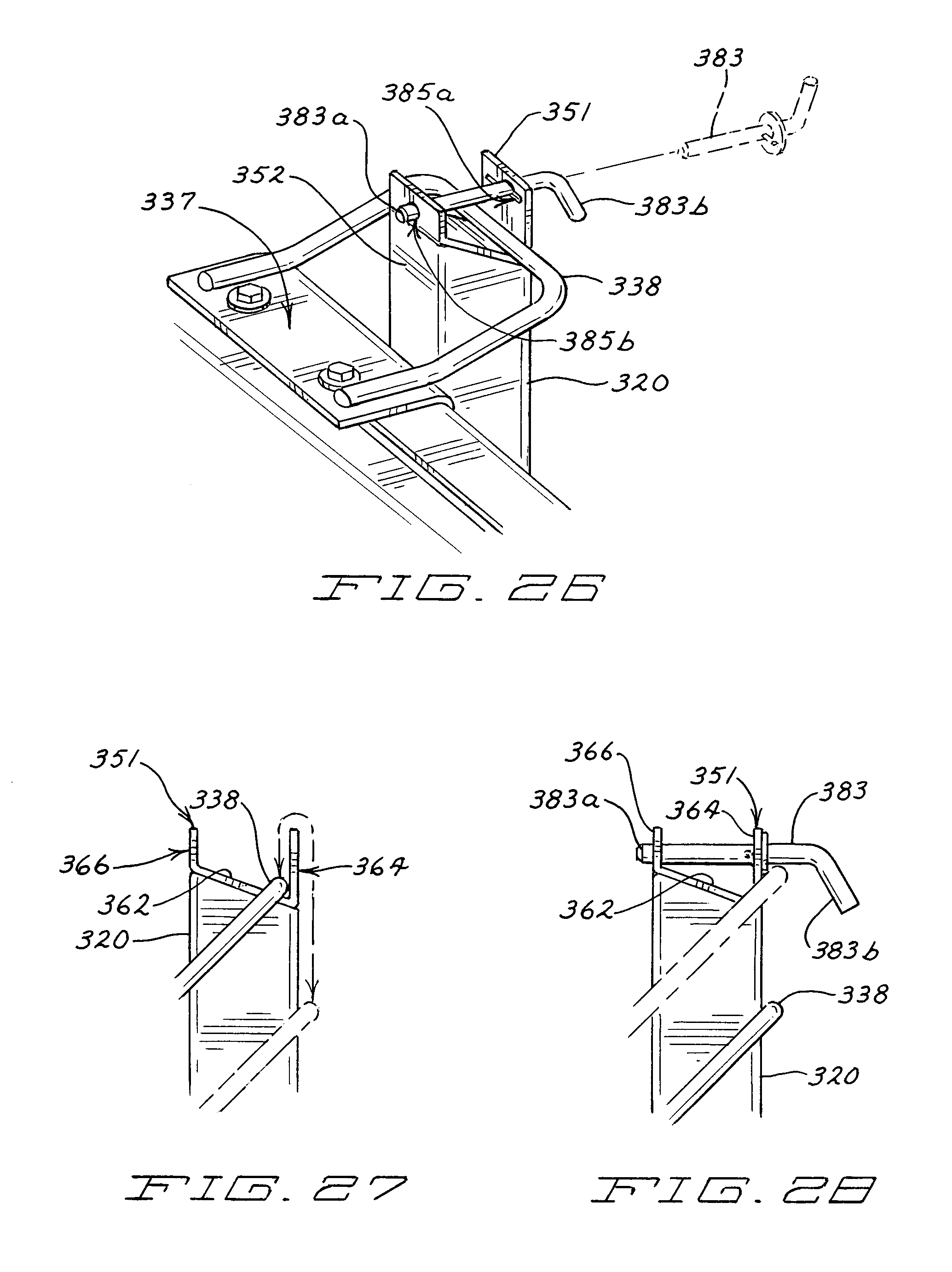 patent us8037625 snow plow having pivotal mounting apparatus Fisher Plow Light Wiring Diagram patent drawing
