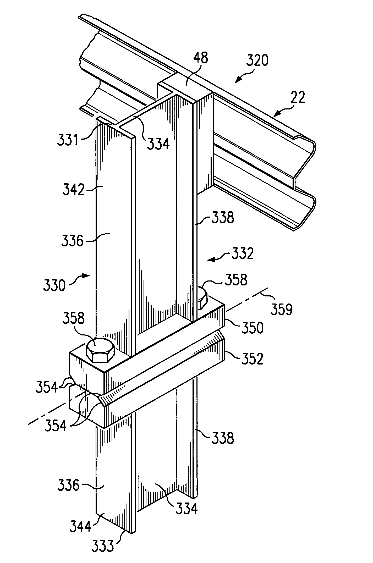 Patent us breakaway support post for highway