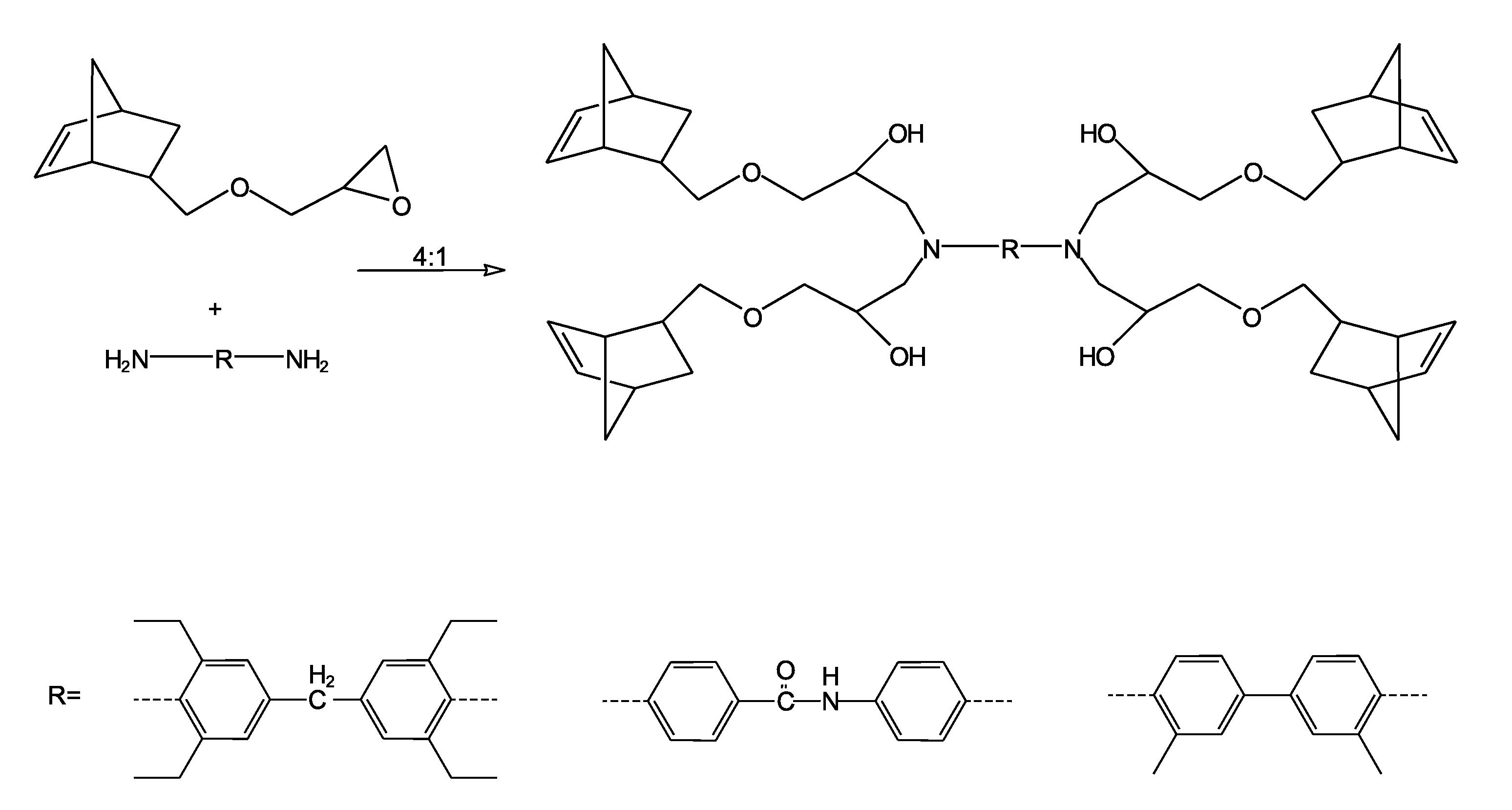 ring opening metathesis reaction
