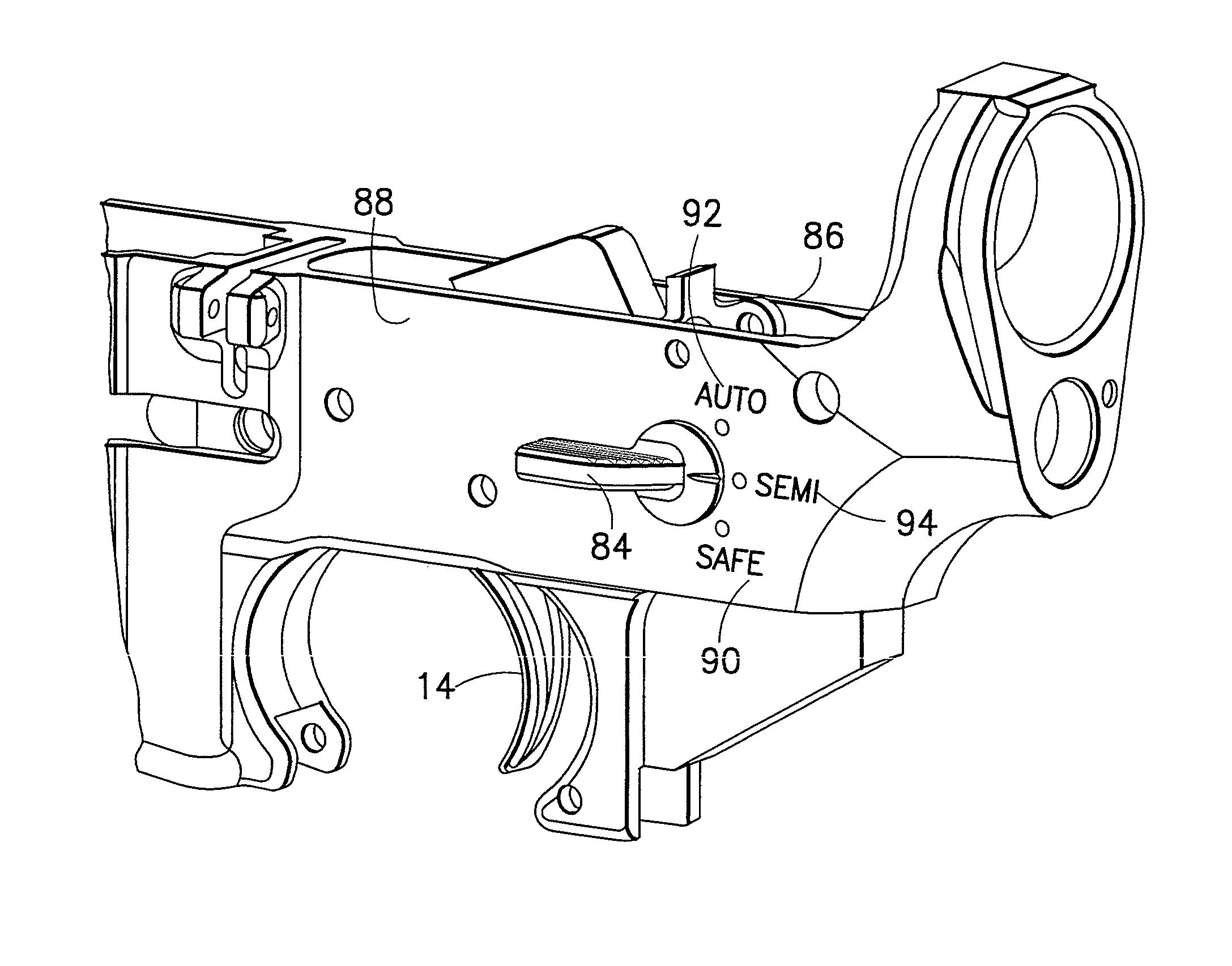 m16 auto sear drawing