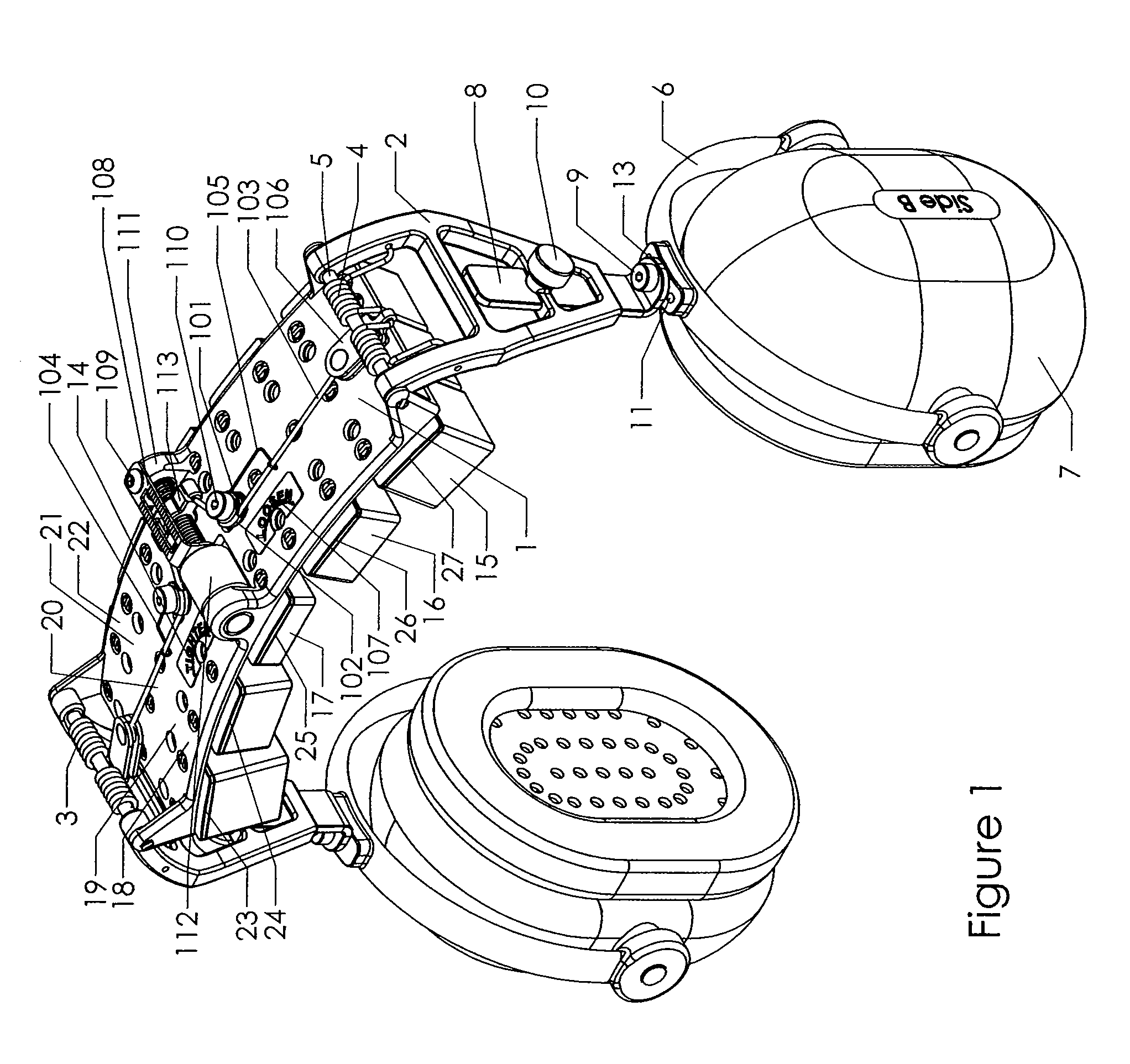 patent us8050444 - adjustable mechanism for improving headset comfort