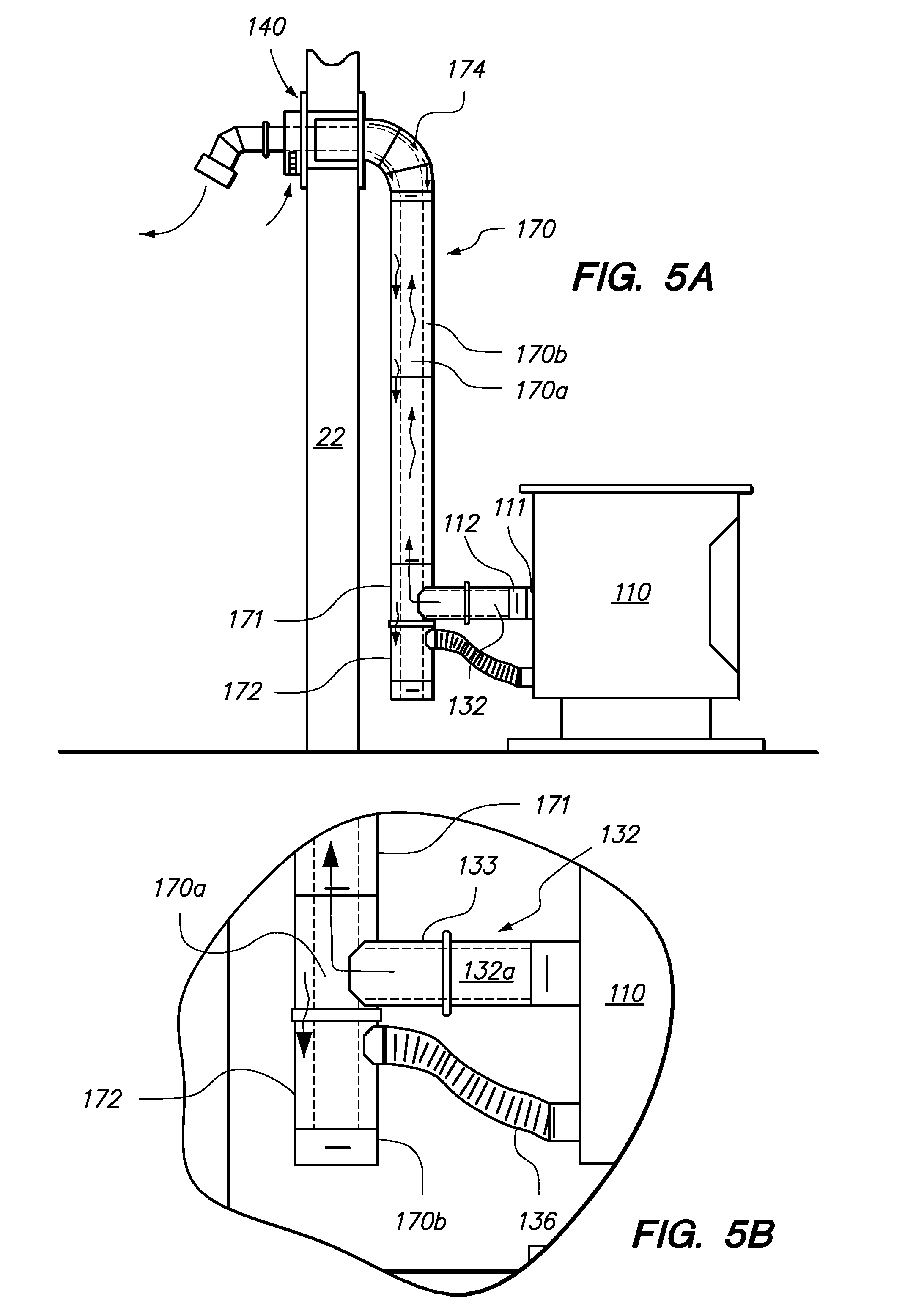 patent us8056552 wall thimble with outside air inlet google