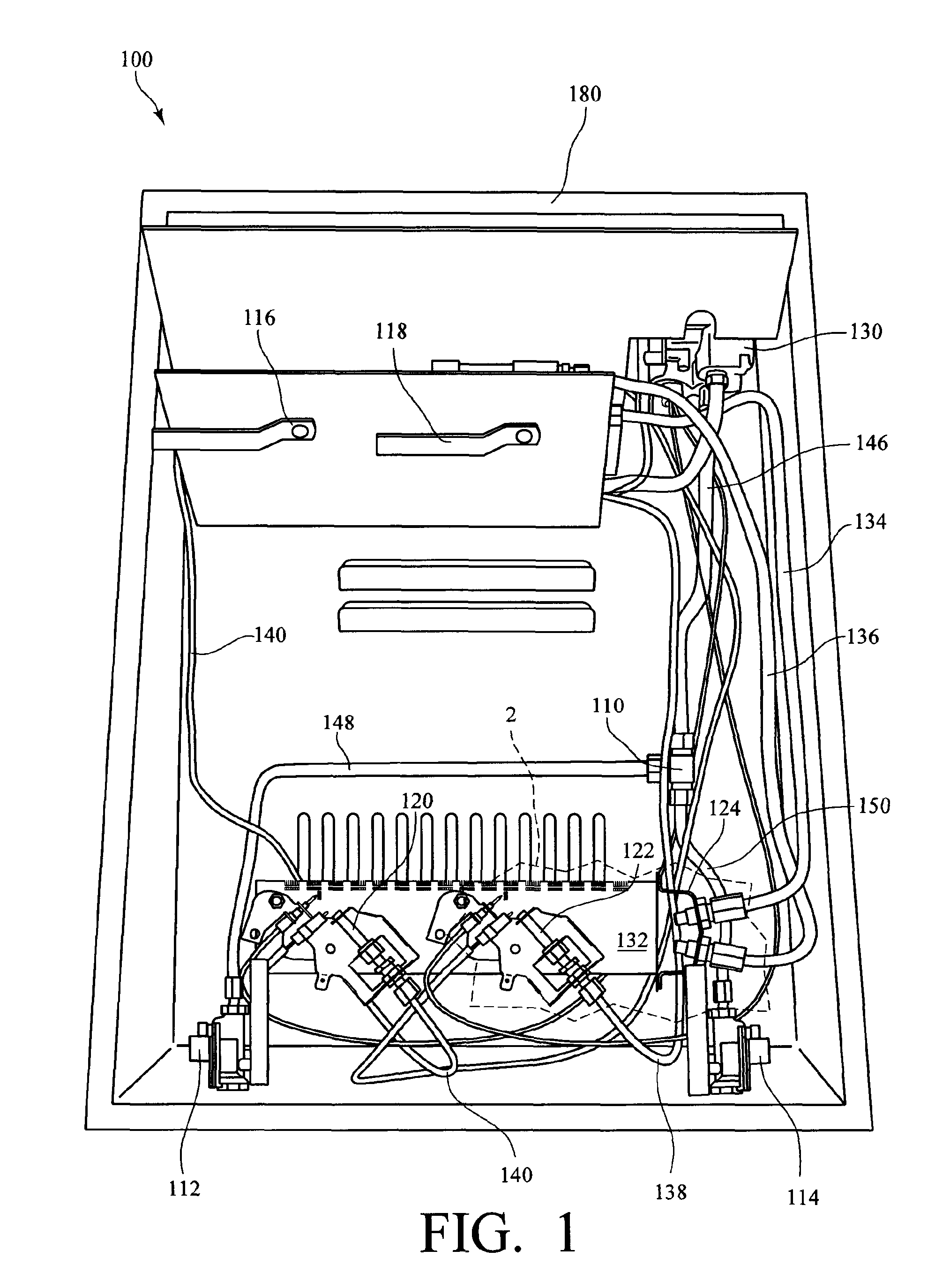 patent us8057219 dual fuel vent free gas heater google patents