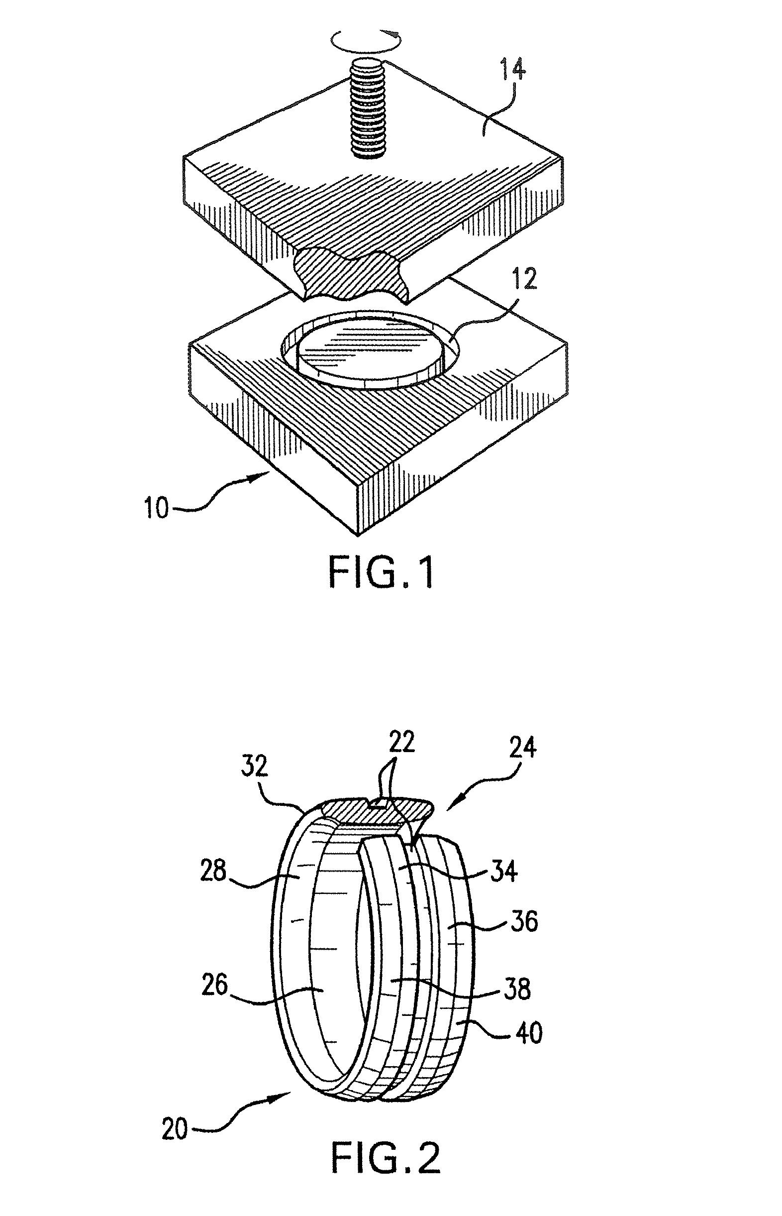 Iridium Wedding Band 49 Stunning Patent Drawing
