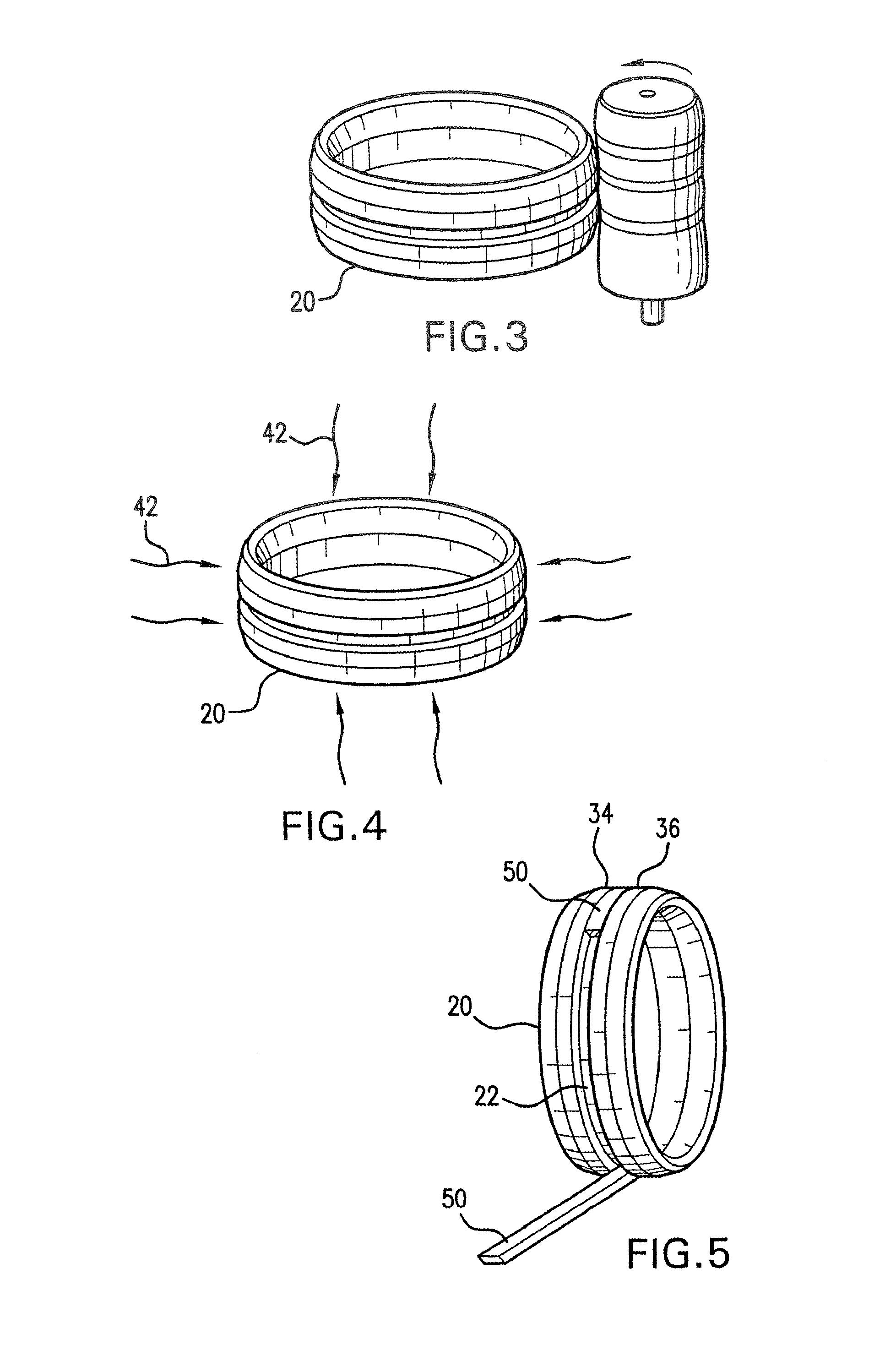 Iridium Wedding Band 40 Perfect Patent Drawing