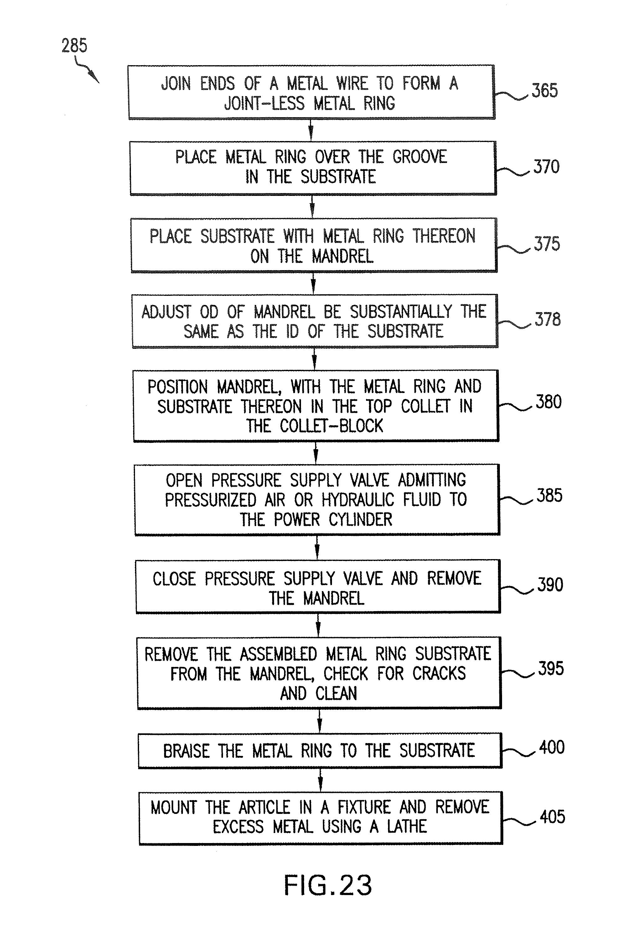 Iridium Wedding Band 38 Nice Patent Drawing