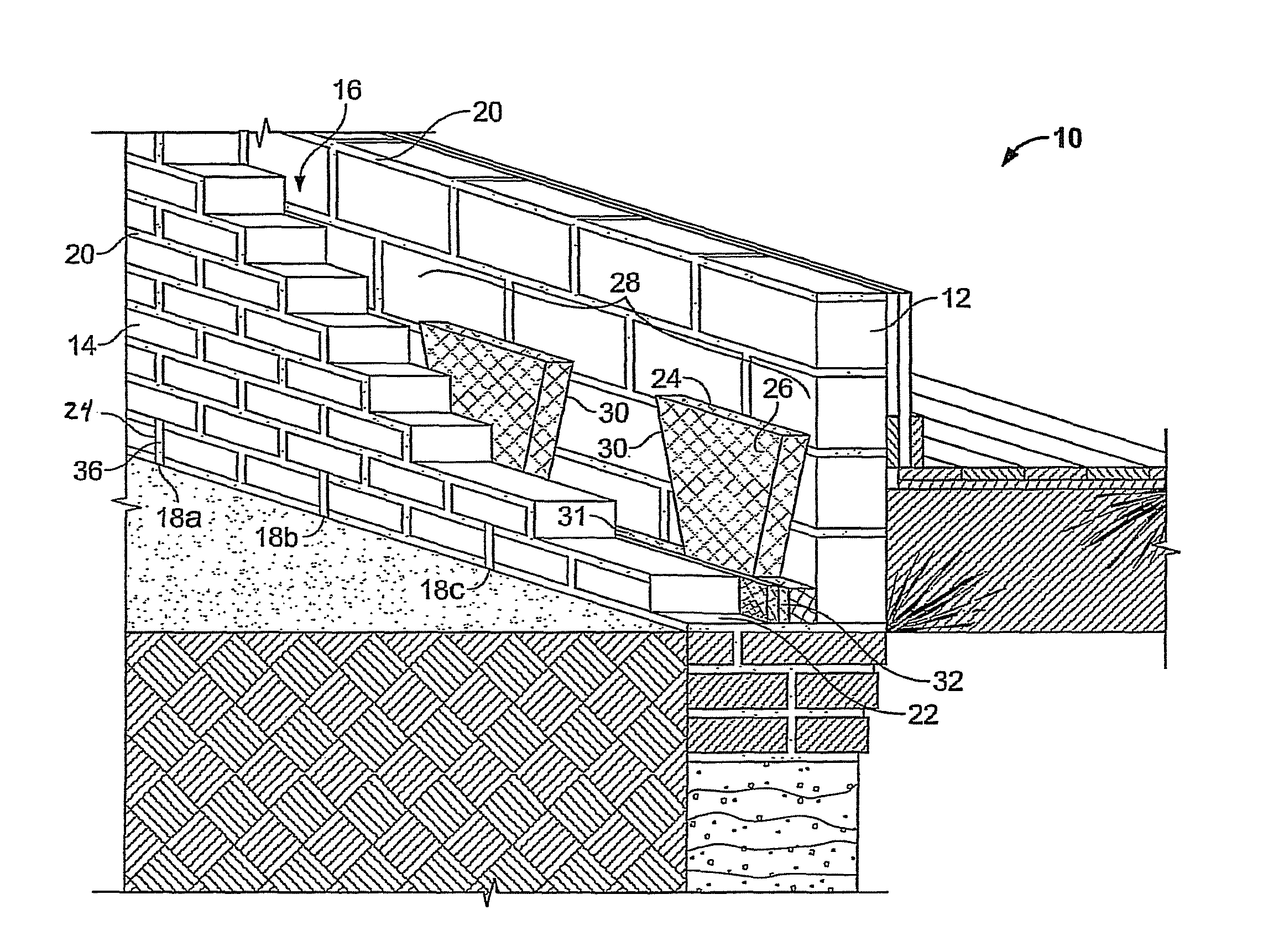 Cavity Wall Construction : Patent us cavity wall construction with insect