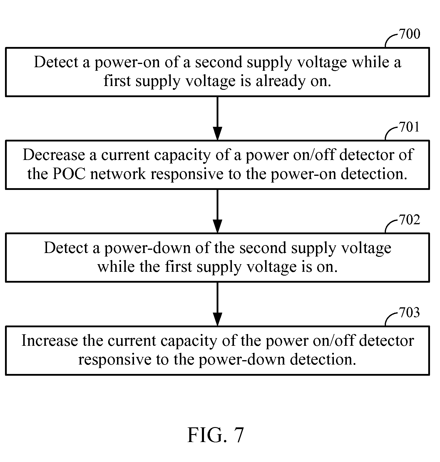 Patent US8063674 - Multiple supply-voltage power-up/down detectors ...