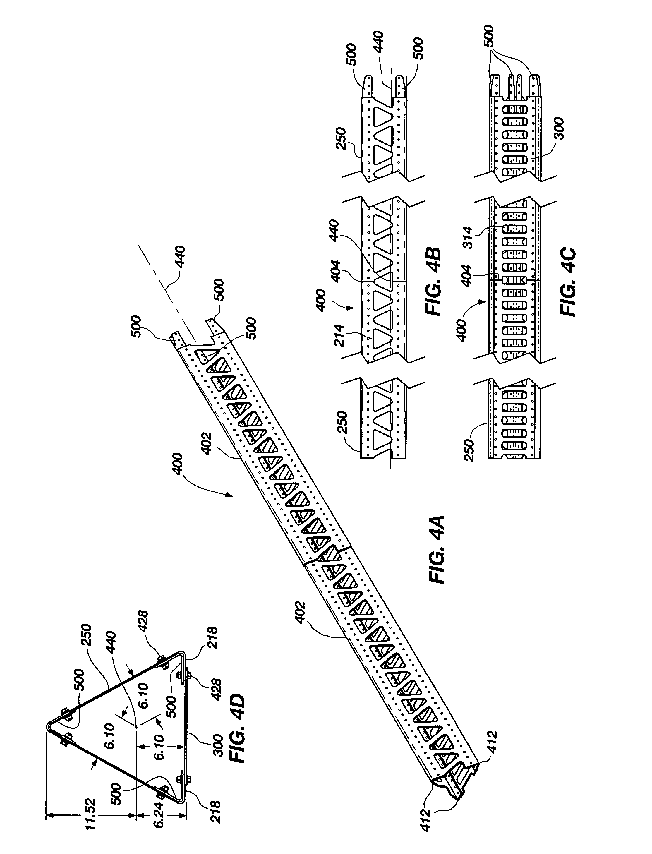 Patent us hollow structural members a rail