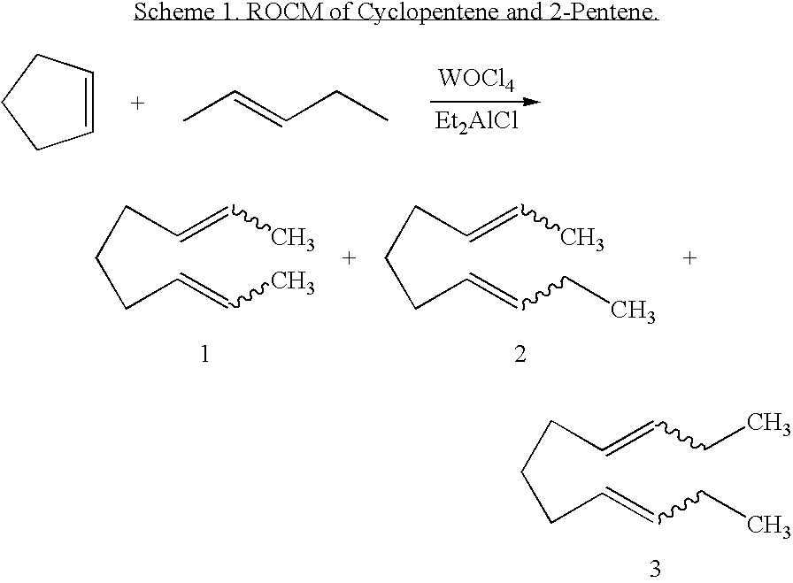cross metathesis of olefins Cross metathesis and ring-closing metathesis are driven by the entropically favored evolution of ethylene or propylene, which can be removed from the system because they are gases because of this cm and rcm reactions often use alpha-olefins.