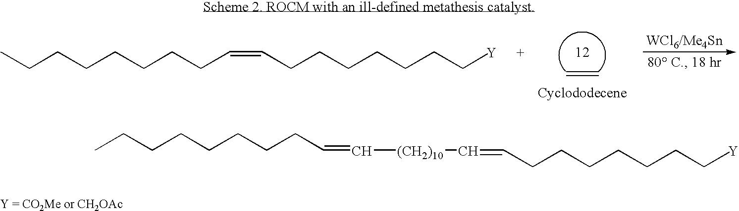 Metathesis latex