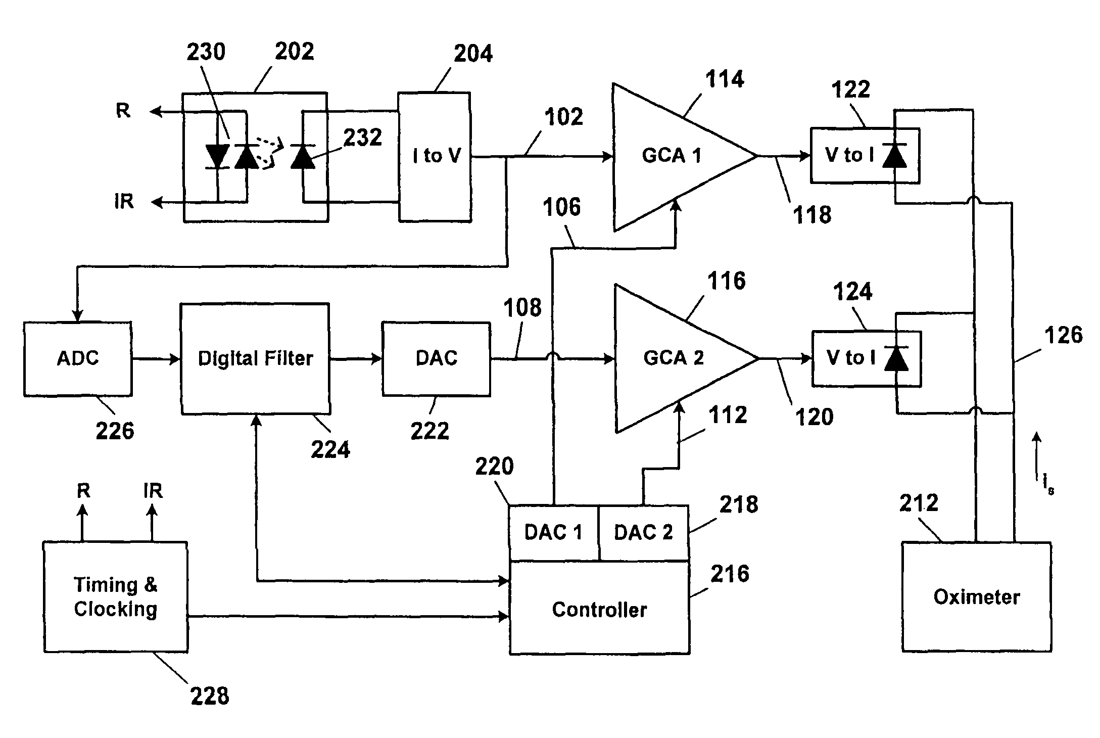 Pulse Wiring Diagram Ic Hex Inverter Datasheet Square Wave 100 Revtech Coil Block Of Oximeter The Patent Us8068890 Oximetry Sensor Switchover Google Patents