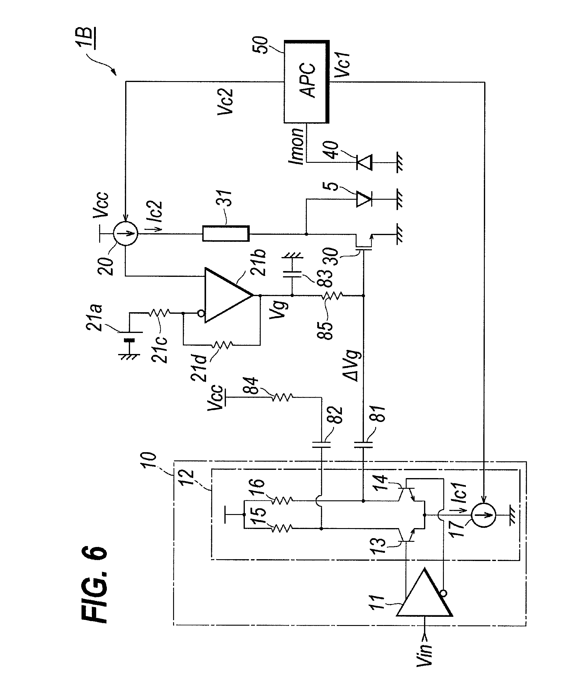 patent us8073030 - shunt driver circuit for semiconductor laser diode