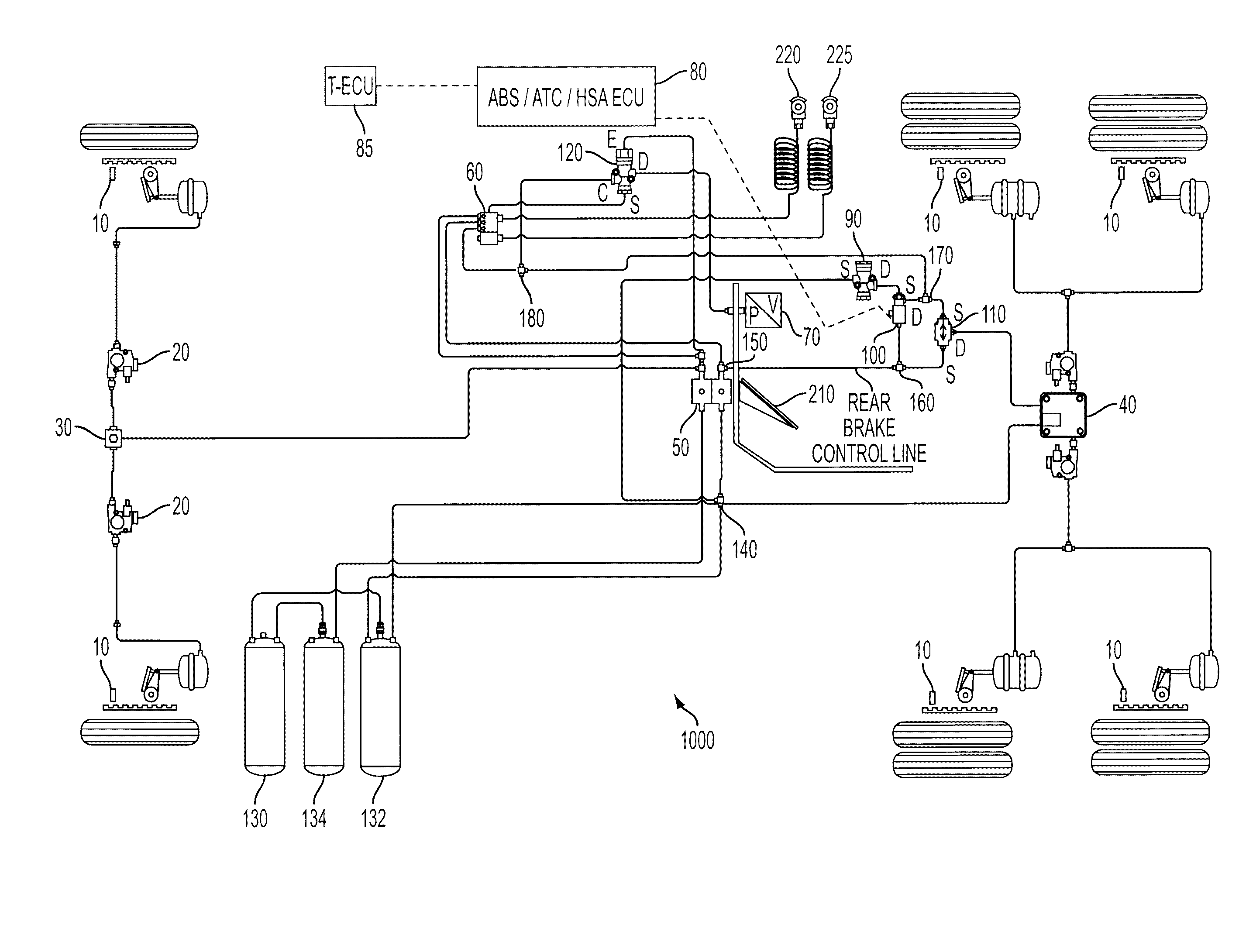 patent us8078378 - hill start assist system