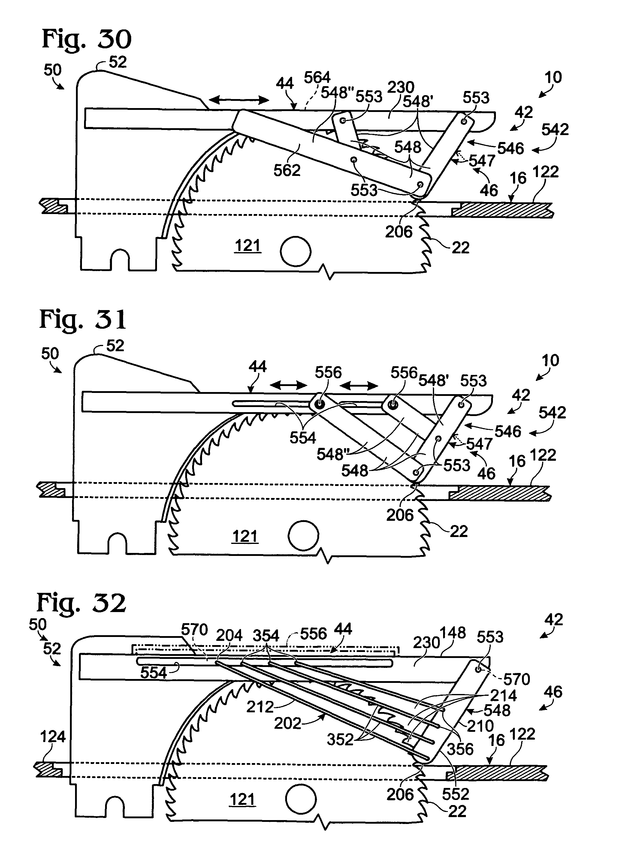 Patent US Table saw blade guards and blade guard