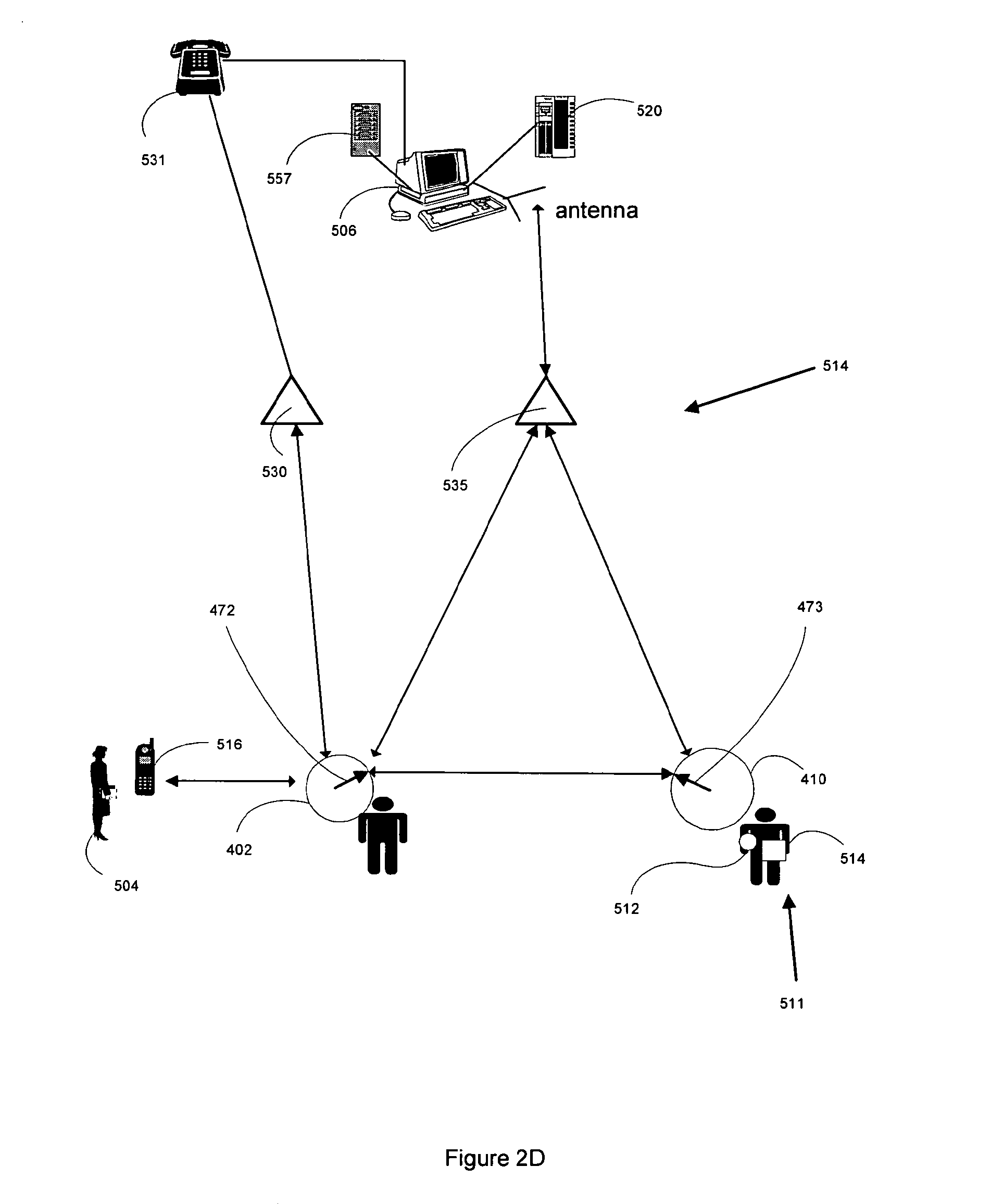 patent us8081072 adaptable user interface for monitoring location House Block Diagram patent drawing