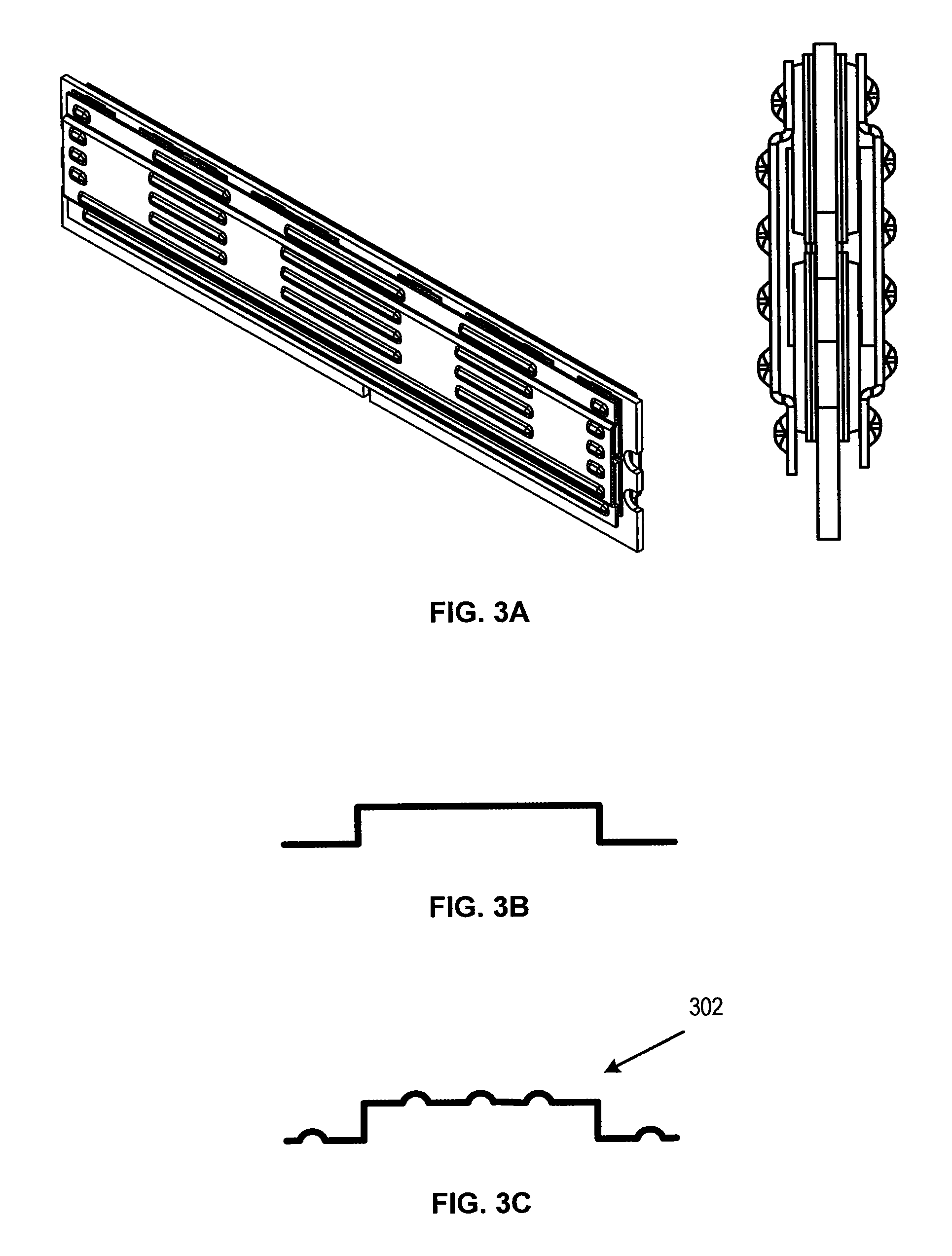 patent us8081474 - embossed heat spreader