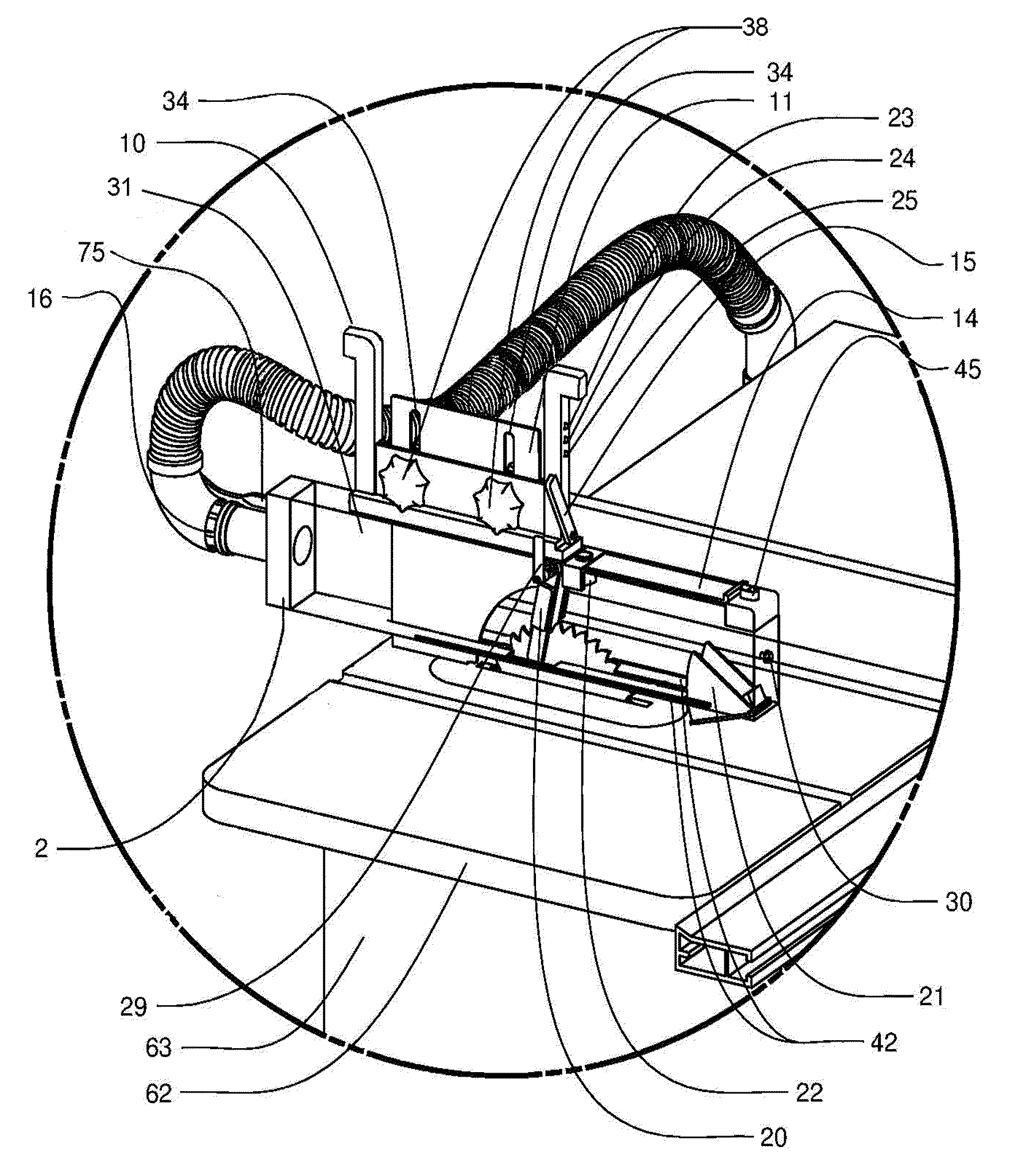 Patent us8082825 health and safety system for a table saw patent drawing greentooth Images