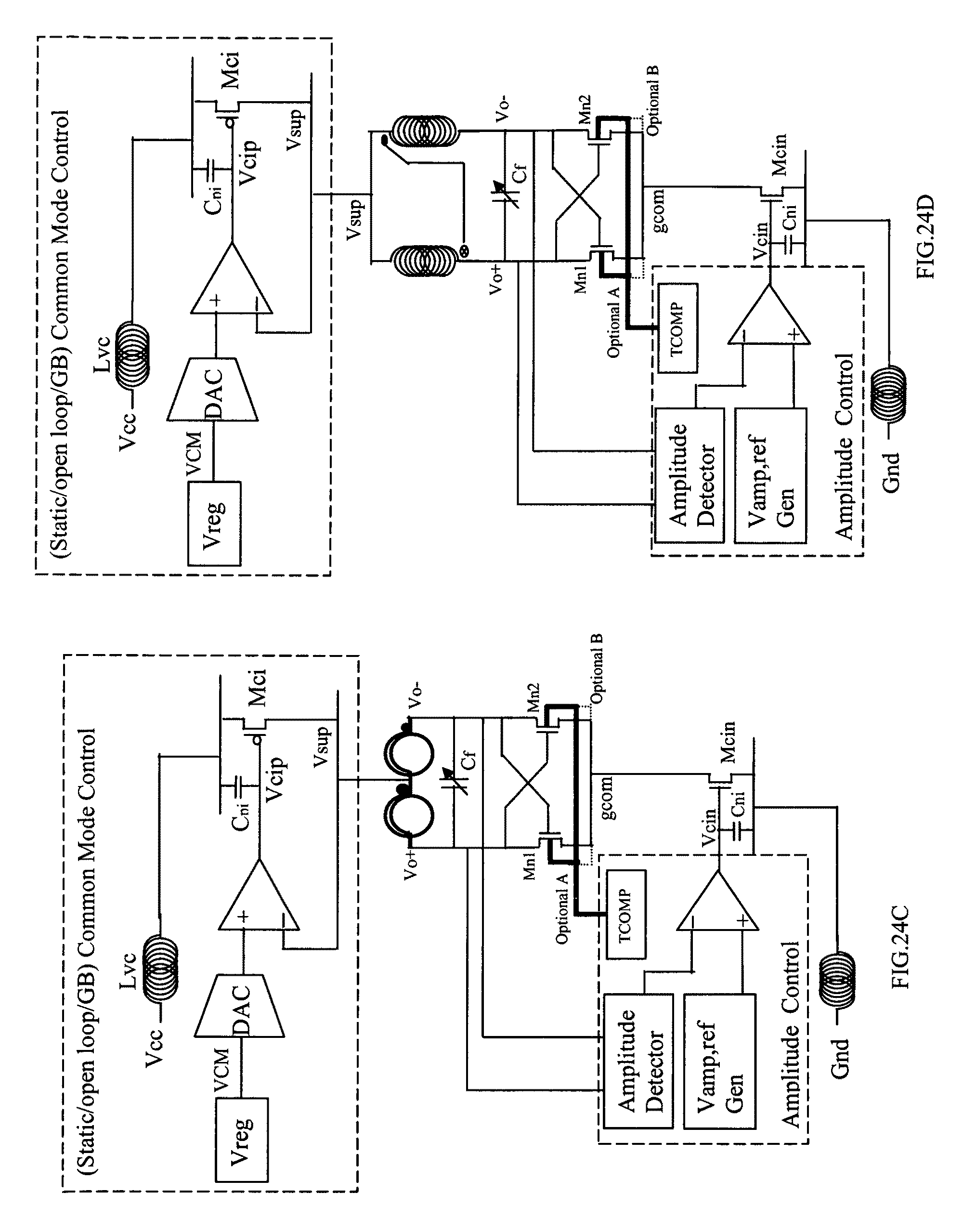Patente Us8089324 Varactor Free Amplitude Controlled Oscillator Wireless Video Doorbell Circuit Basiccircuit Diagram Patent Drawing