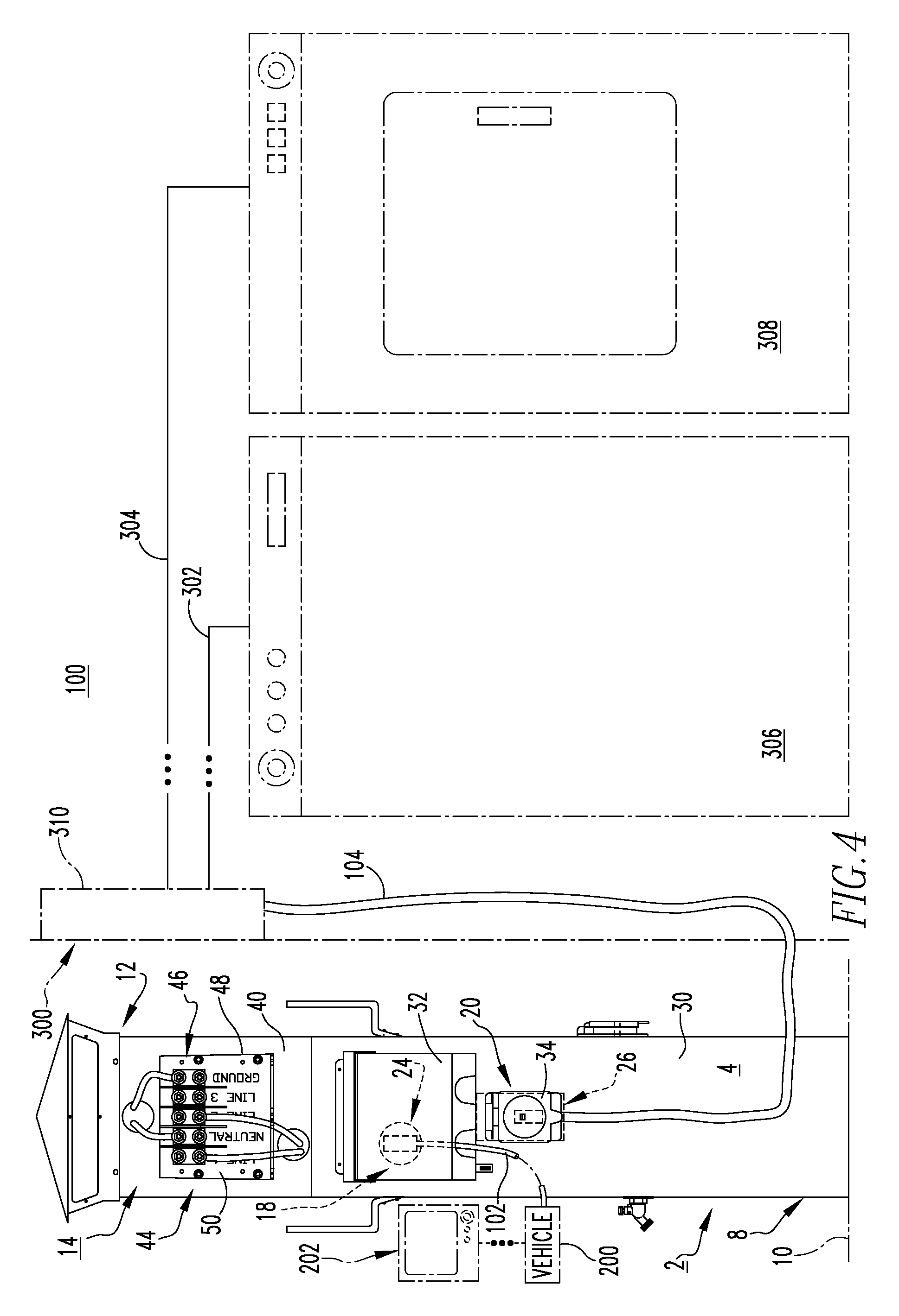 patent us8089747 power pedestal and system employing same patent drawing