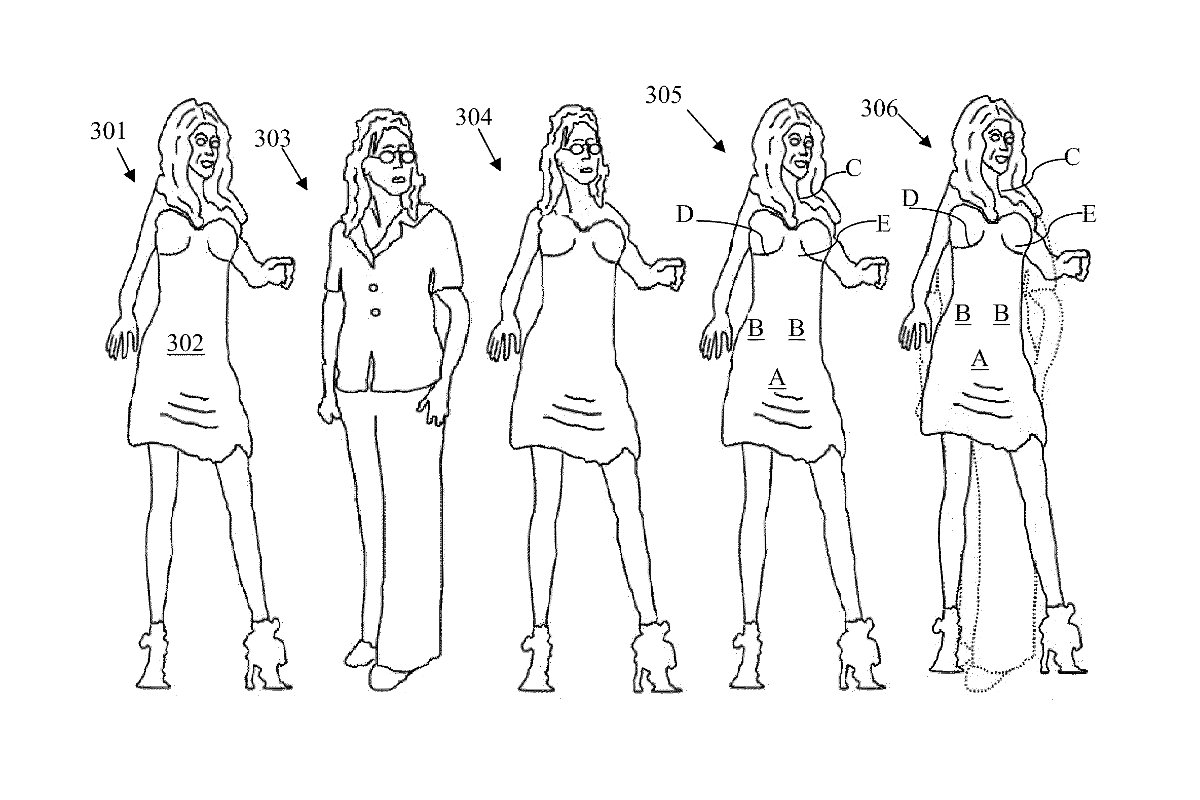 Patent Us8090465 Fashion Design Method System And