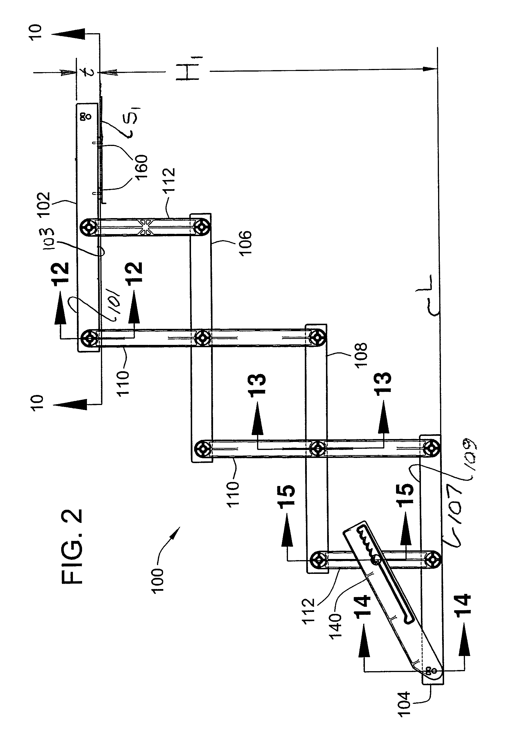 Folding Staircase Patent Us8091294 Folding Pet Staircase Google Patents