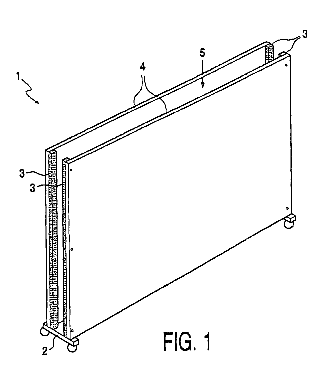 patent us8091301 sound insulating partition wall and assembly patent drawing