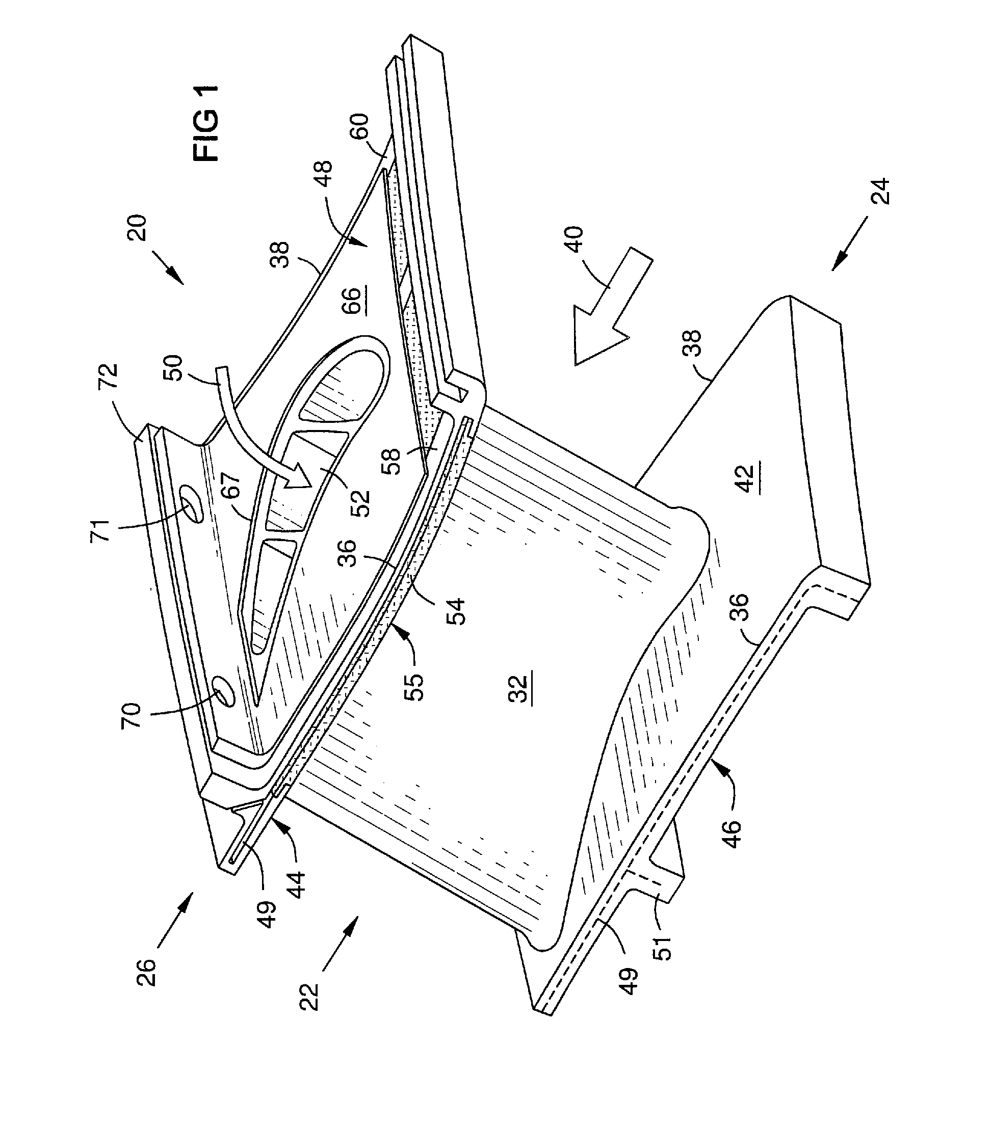 Patent US Circumferential shroud inserts for a gas