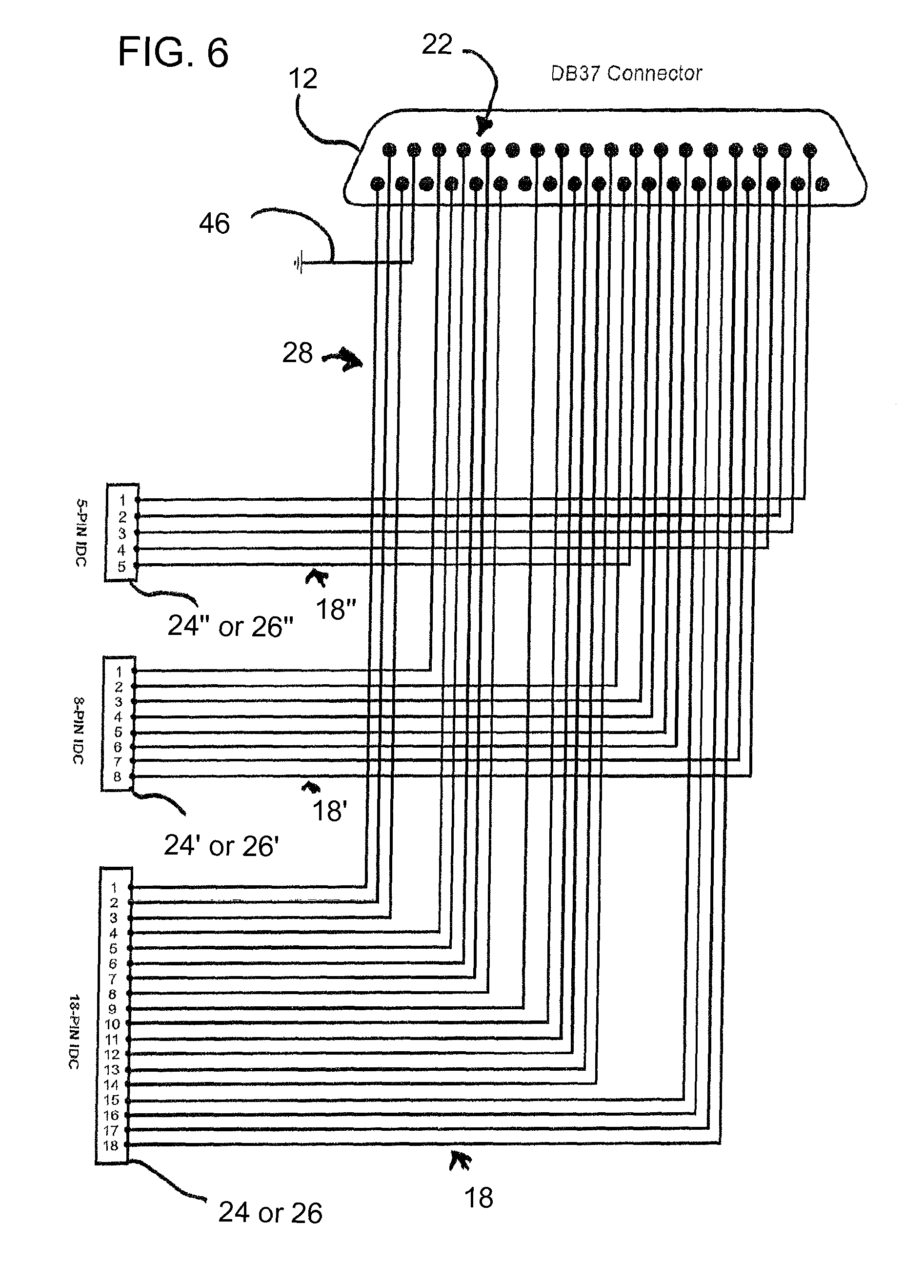 US08096813 20120117 D00006 patent us8096813 method, kit, and an associated adaptor, usable rauland responder 5 wiring diagram at fashall.co
