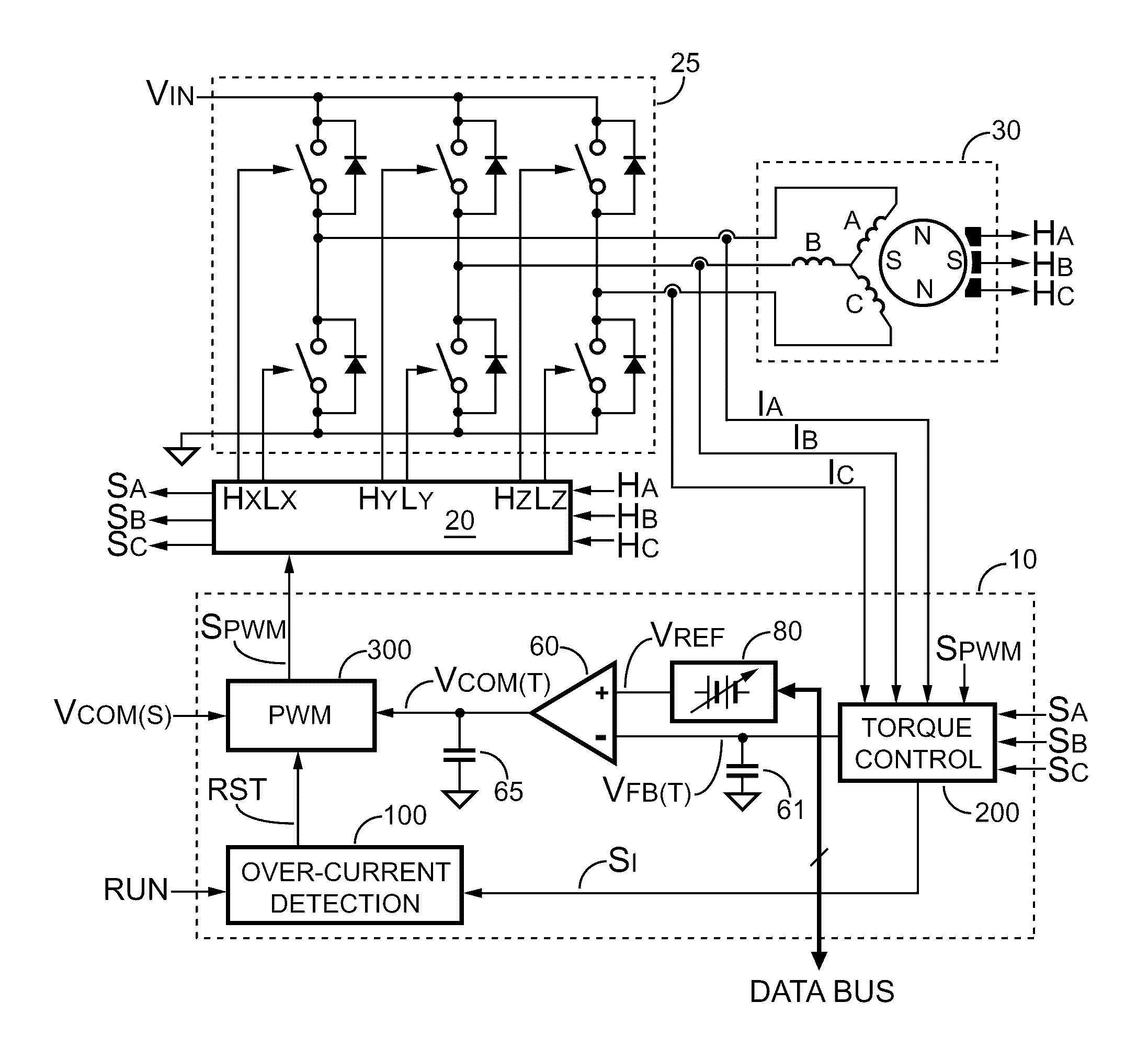 circuit for bldc