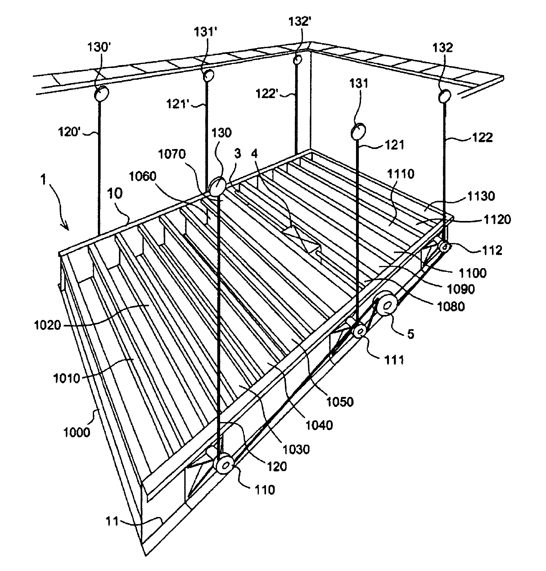patent us8104109 movable floor system for swimming pool 9 Lead Motor Wiring patent drawing