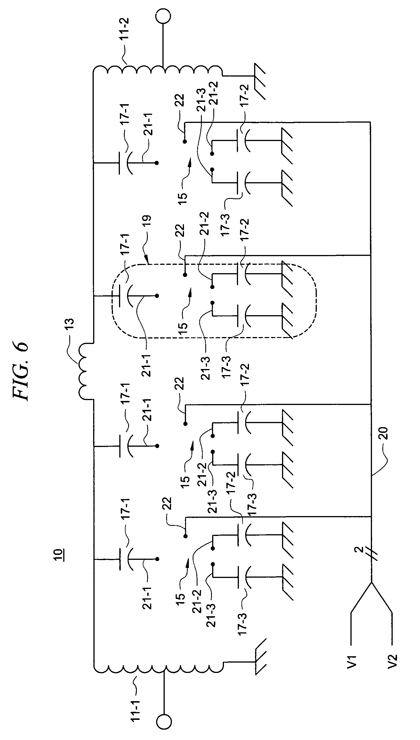 Patent Us8107917 High Linearity Tunable Bandpass Filter Google Rf Input Receiver With Switch Circuit Control Drawing