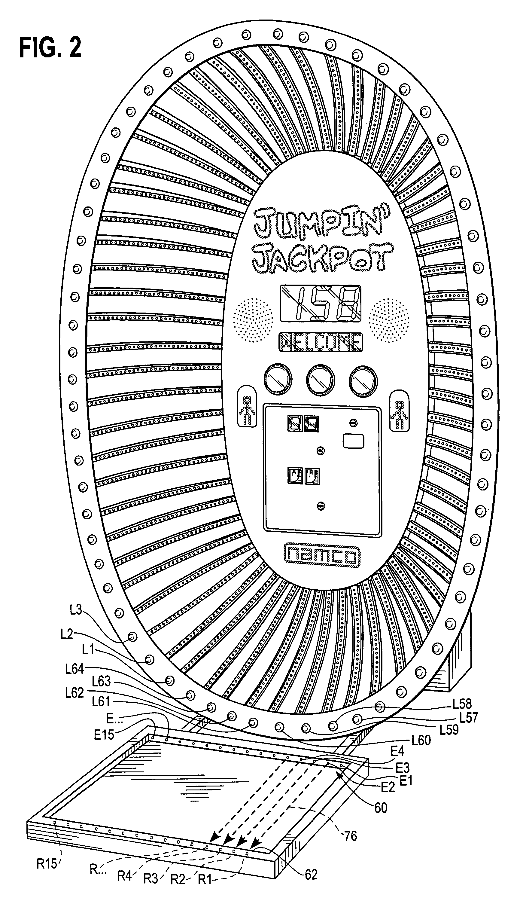 patent us8123586 electronic jump rope google patents patent drawing