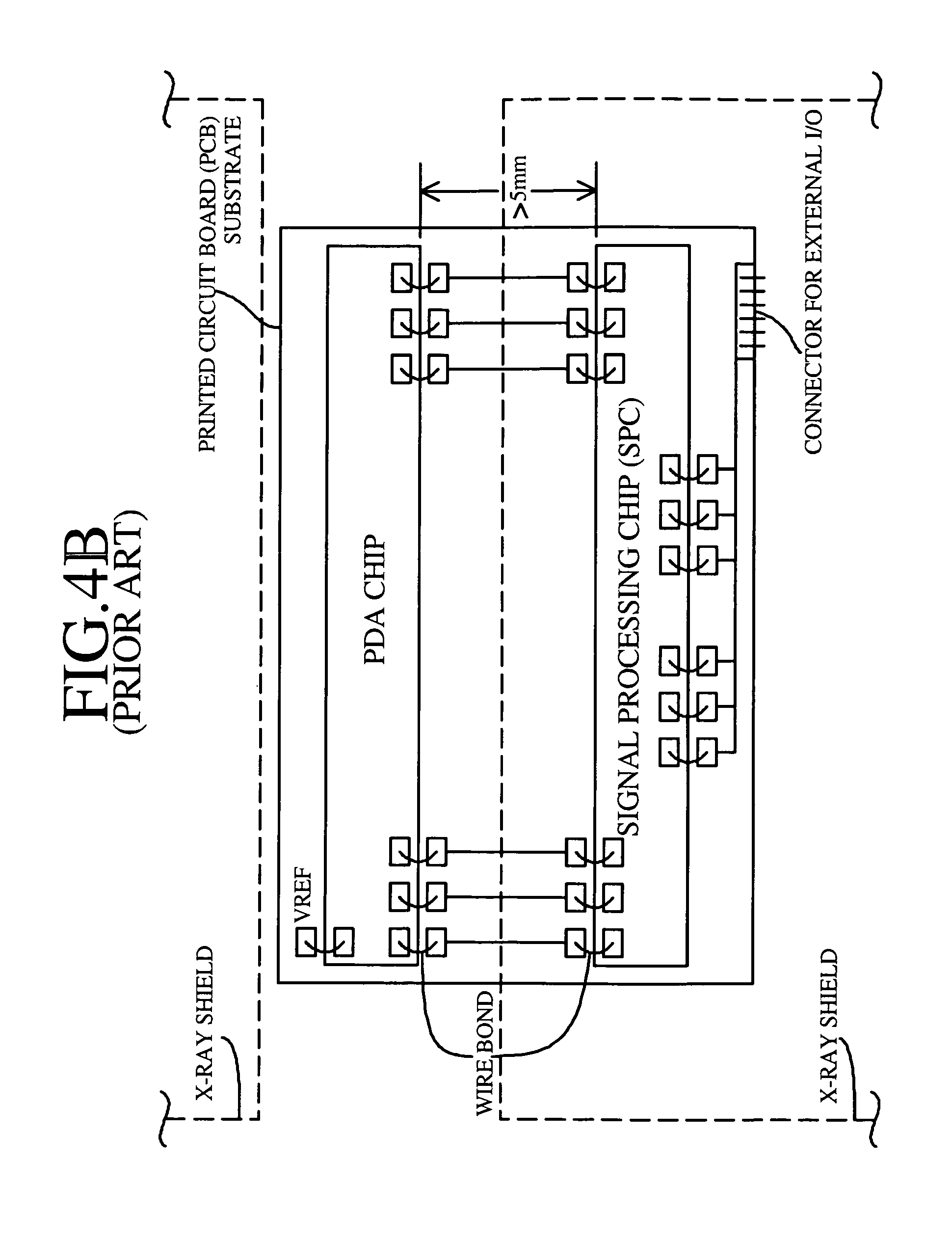 Patent Us8124938 Linear X Ray Detector With Monolithic Photodiodes Signal Conditioning Ic Drawing