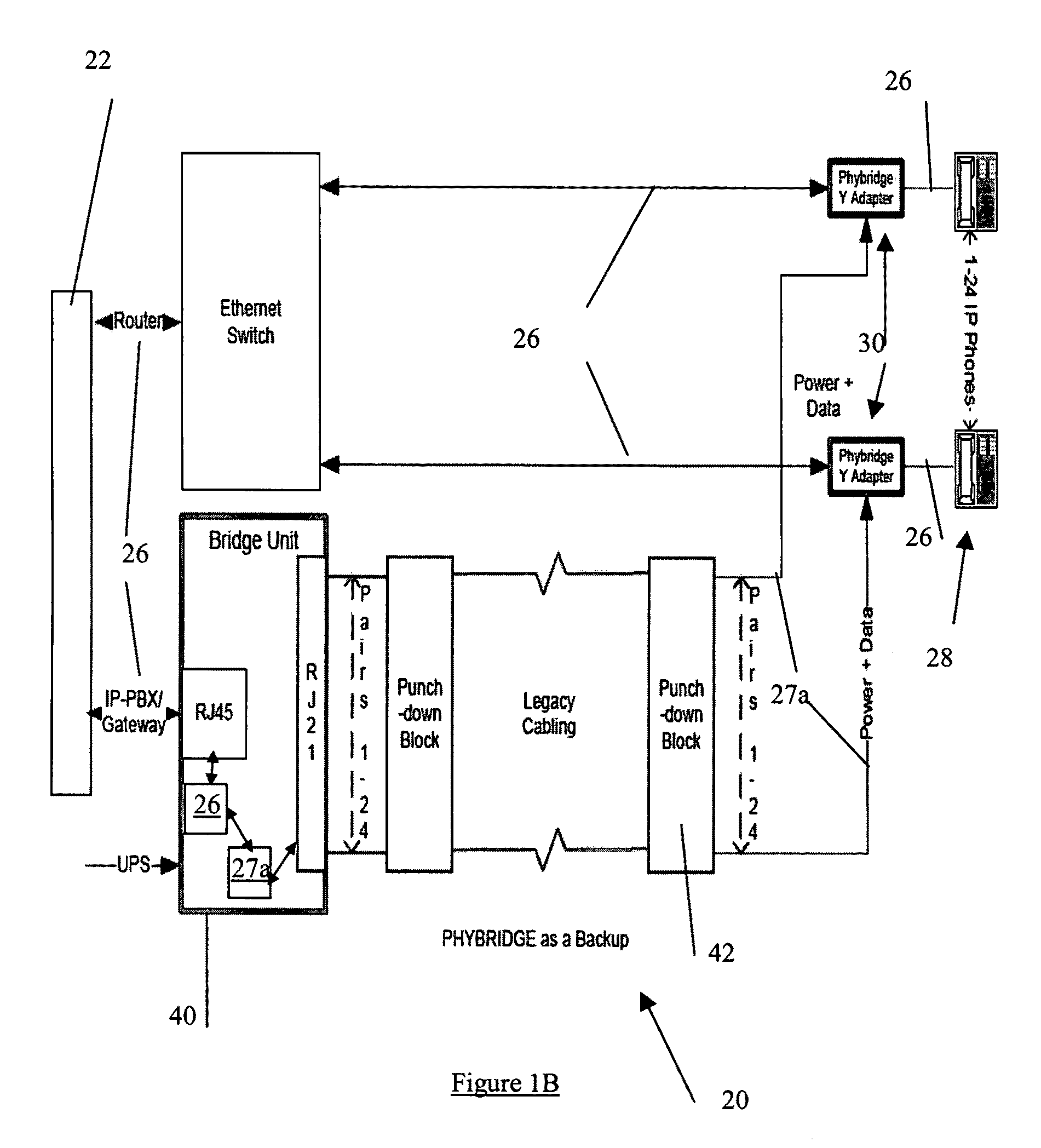 Patent Us8125998 Backup System And Method For Network Data Rj12 Wiring Diagram Pools Drawing