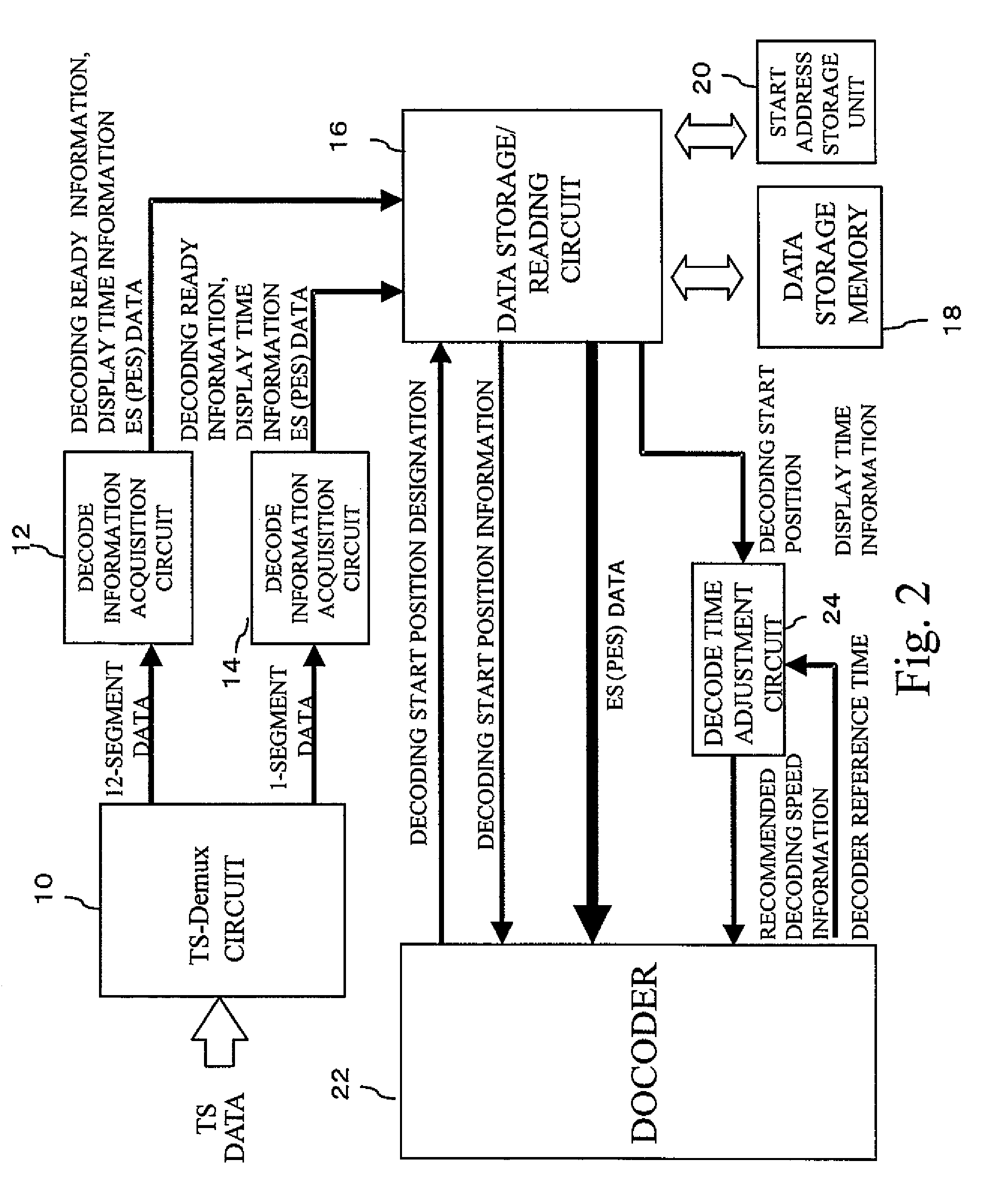 Patent Us8126018 Decoding Circuit Google Patents Reading Schematic Diagram Drawing