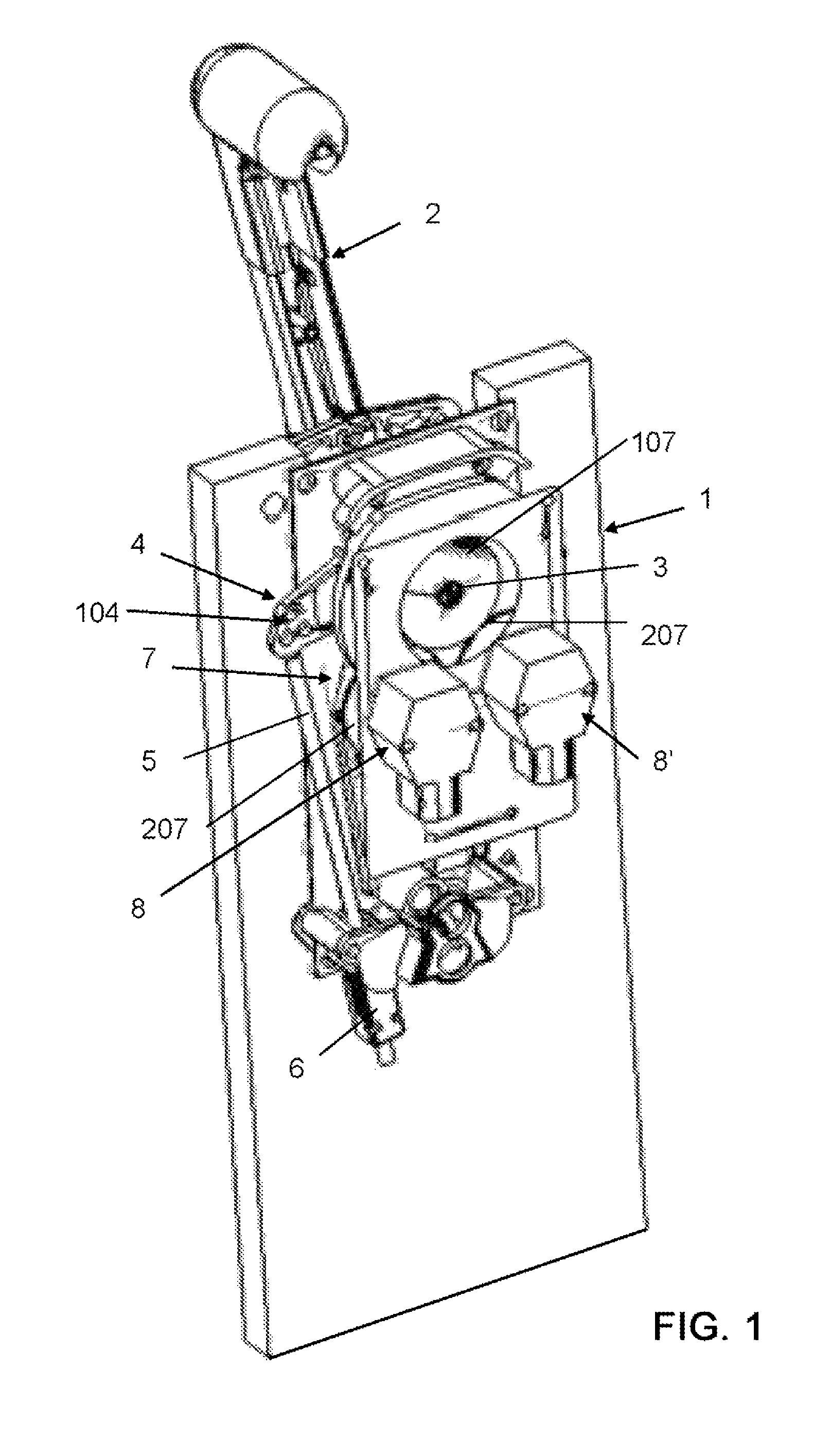 Single Lever Throttle Marine : Patent us single lever control for combined
