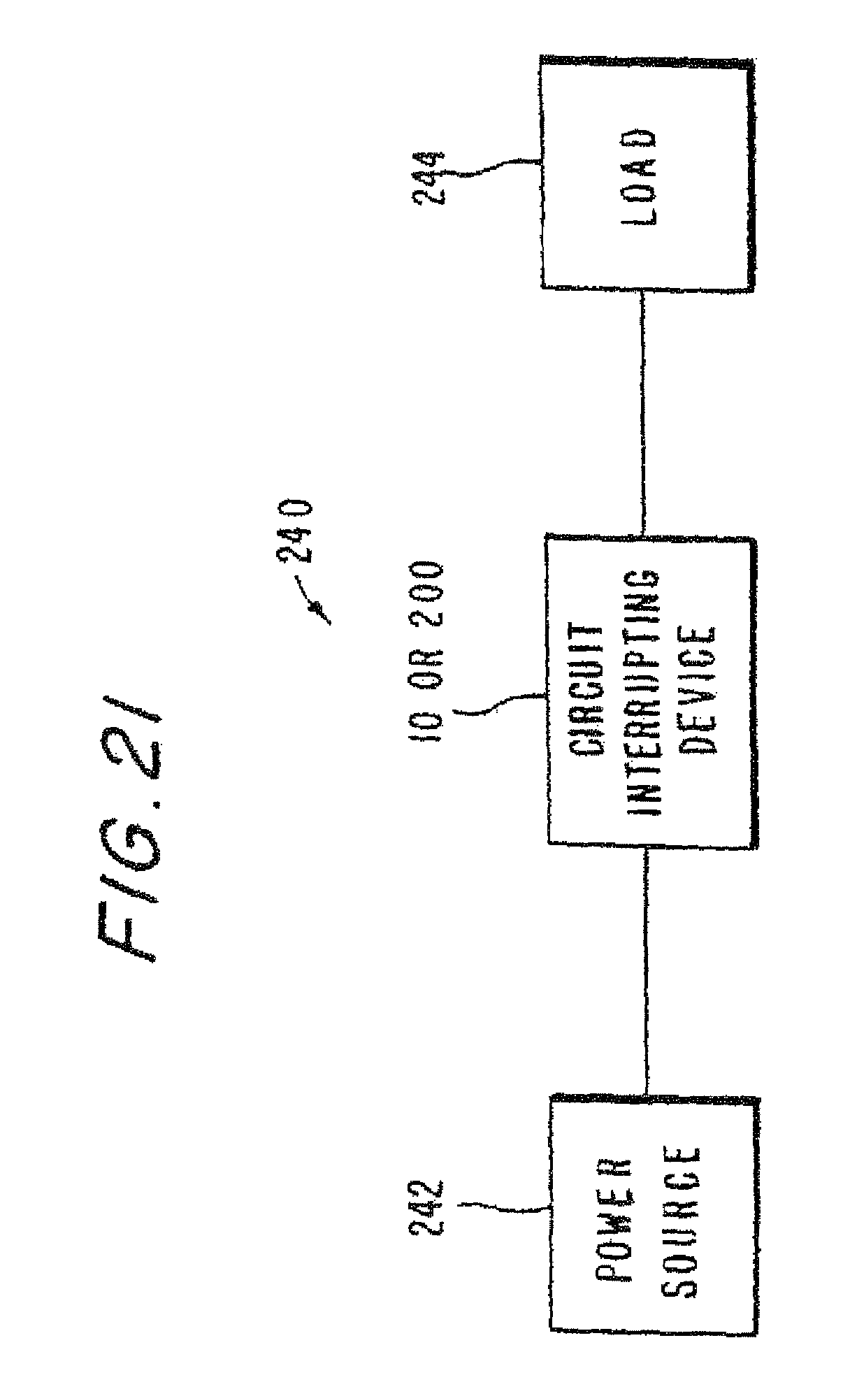 Patent Us8130480 Circuit Interrupting Device With Reset Lockout Breaker Diagram Furthermore Mag Ic On Drawing