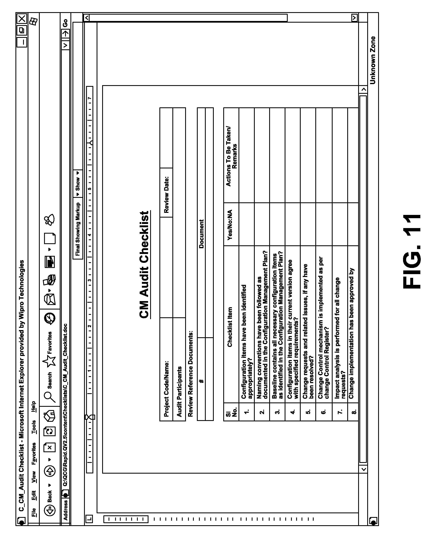 configuration management audit checklist