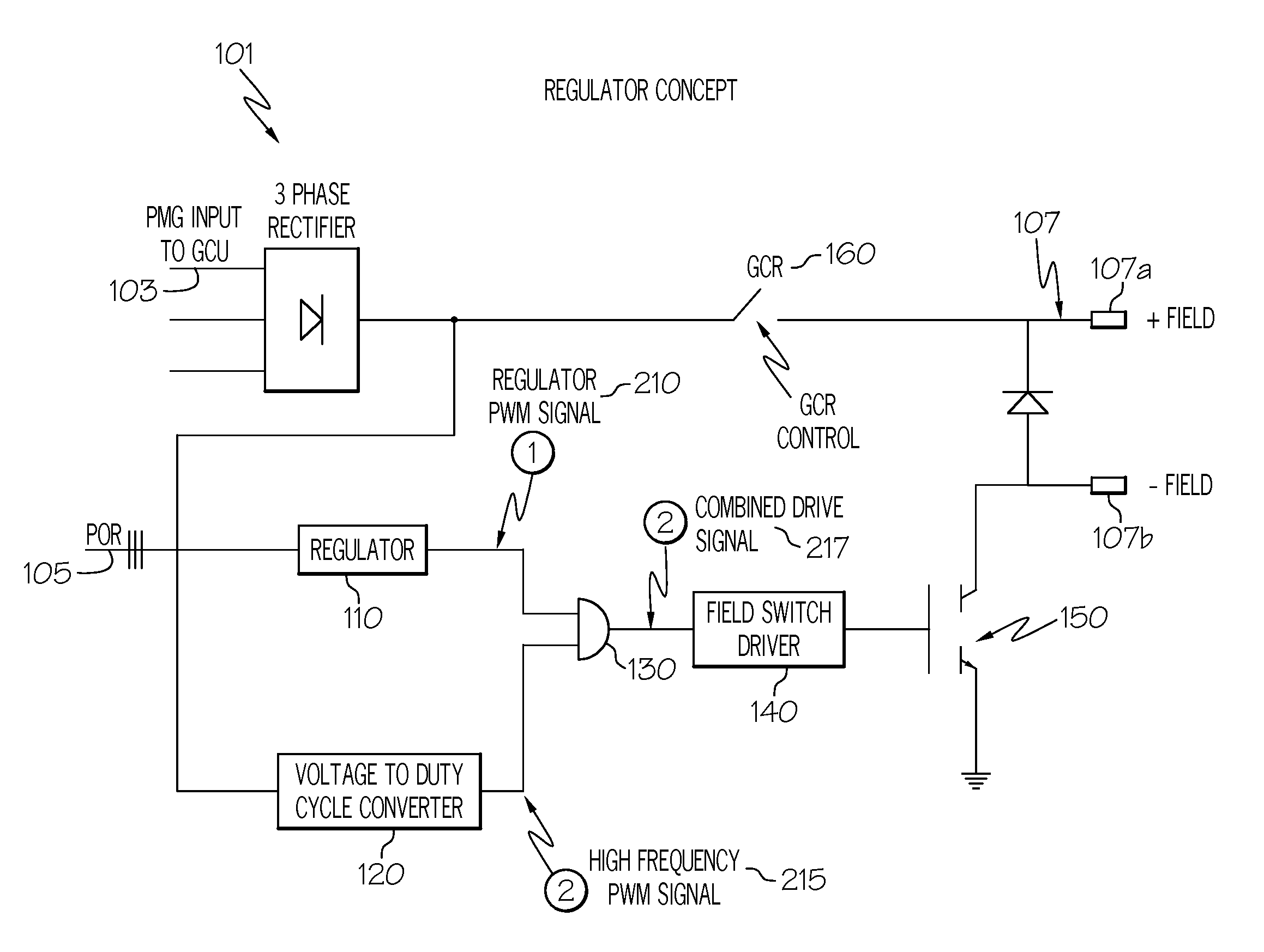 Patent Us8134344 Regulation Control For Variable Frequency Circuit Diagram A Pulse Width Modulated Drive Drawing