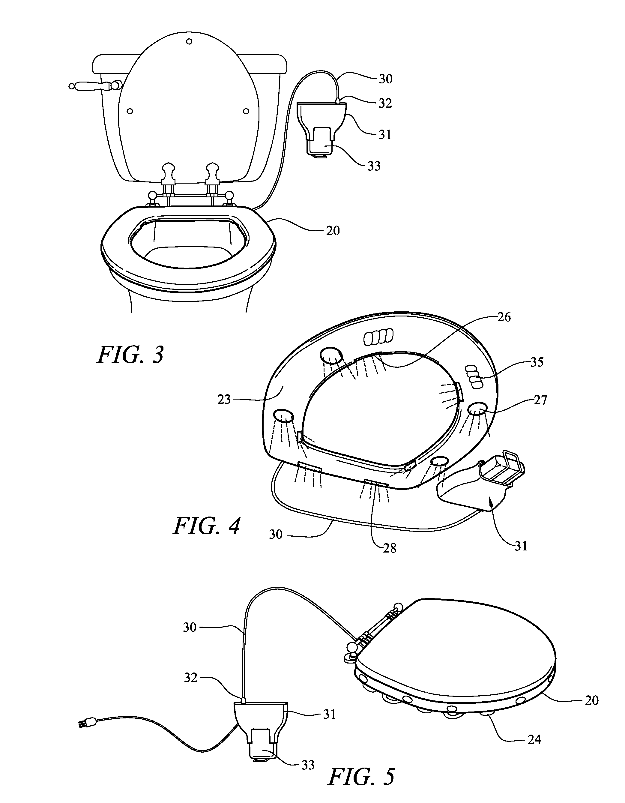 patent us8136172 scented toilet seat google patents. Black Bedroom Furniture Sets. Home Design Ideas