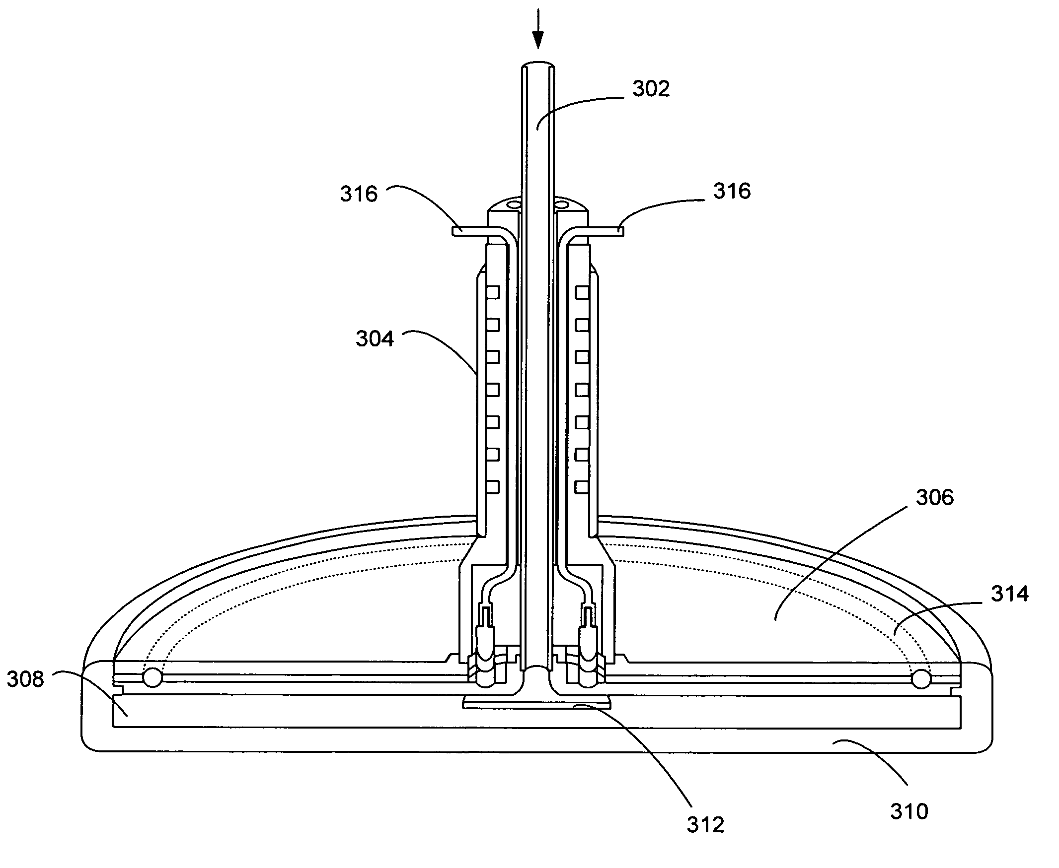 patent us8137467 - temperature controlled showerhead - google patents