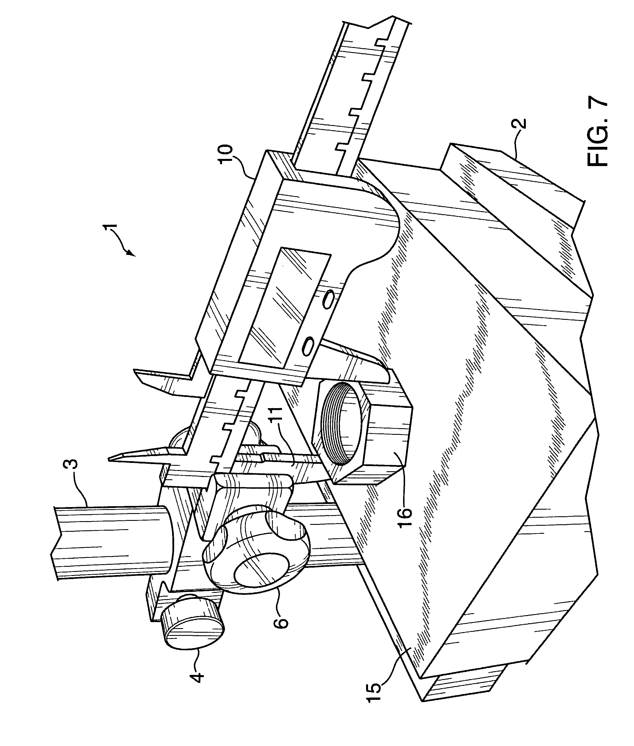 patent us8146263 - ergonomic vernier caliper base