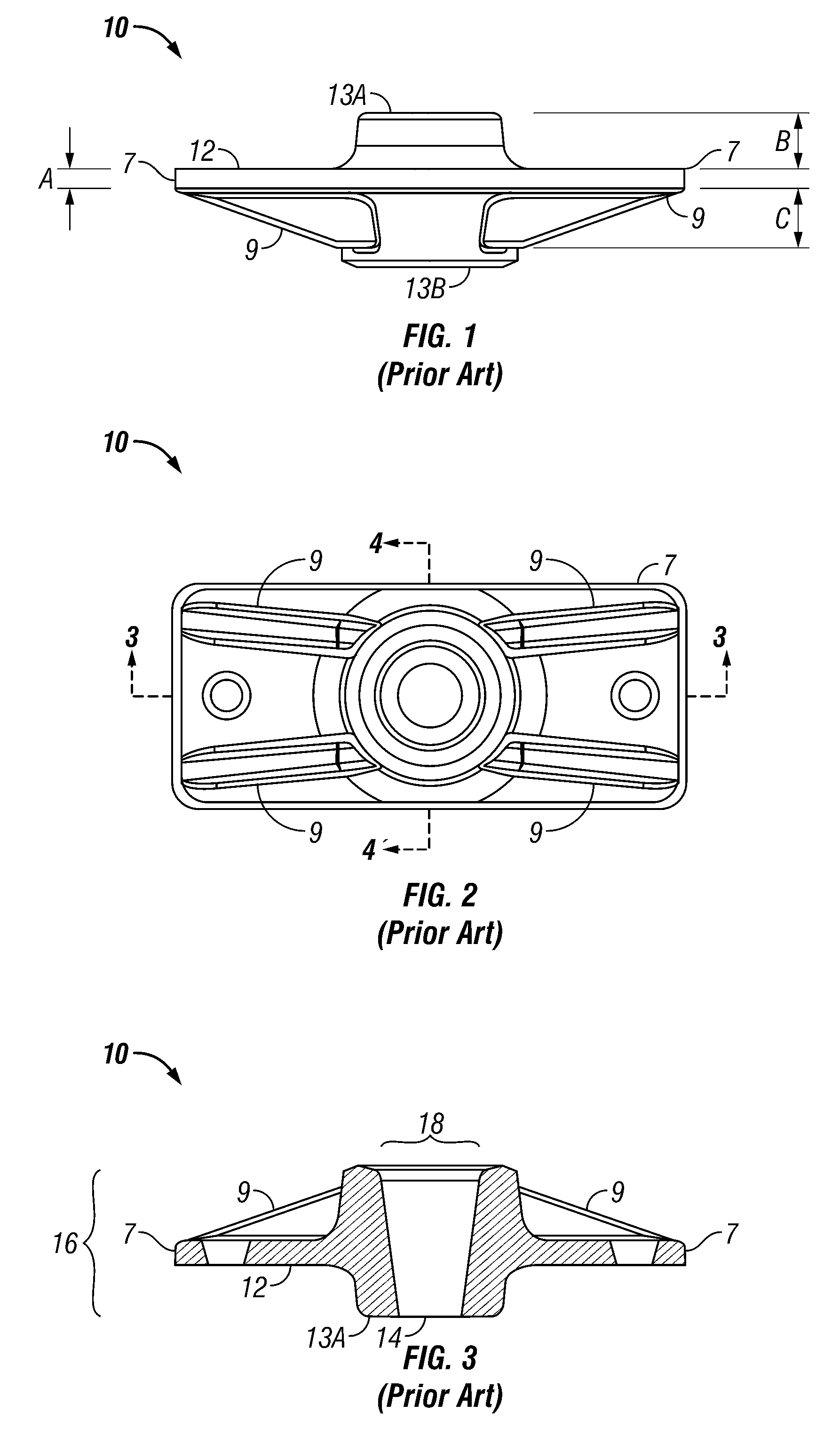 Patent us anchor for post tension concrete